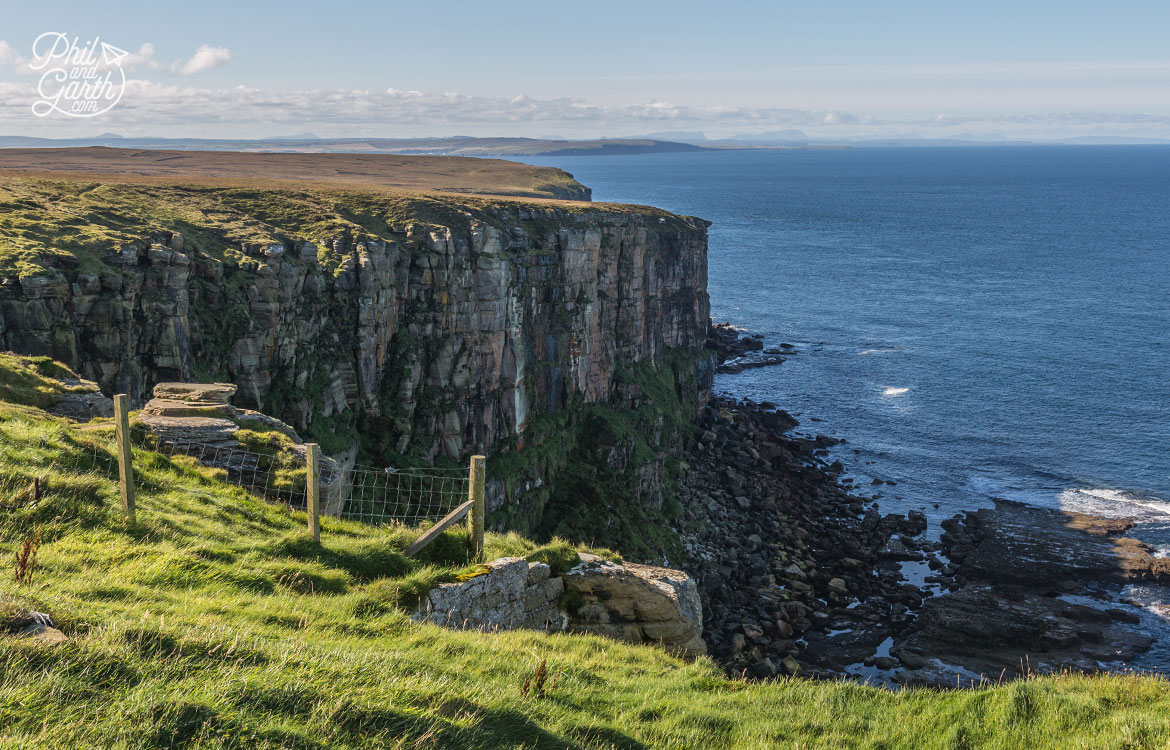 Stunning sea cliffs at Dunnet Head