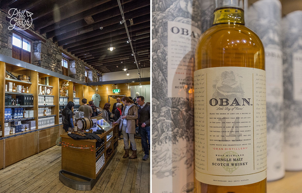 Inside the Oban Distillery