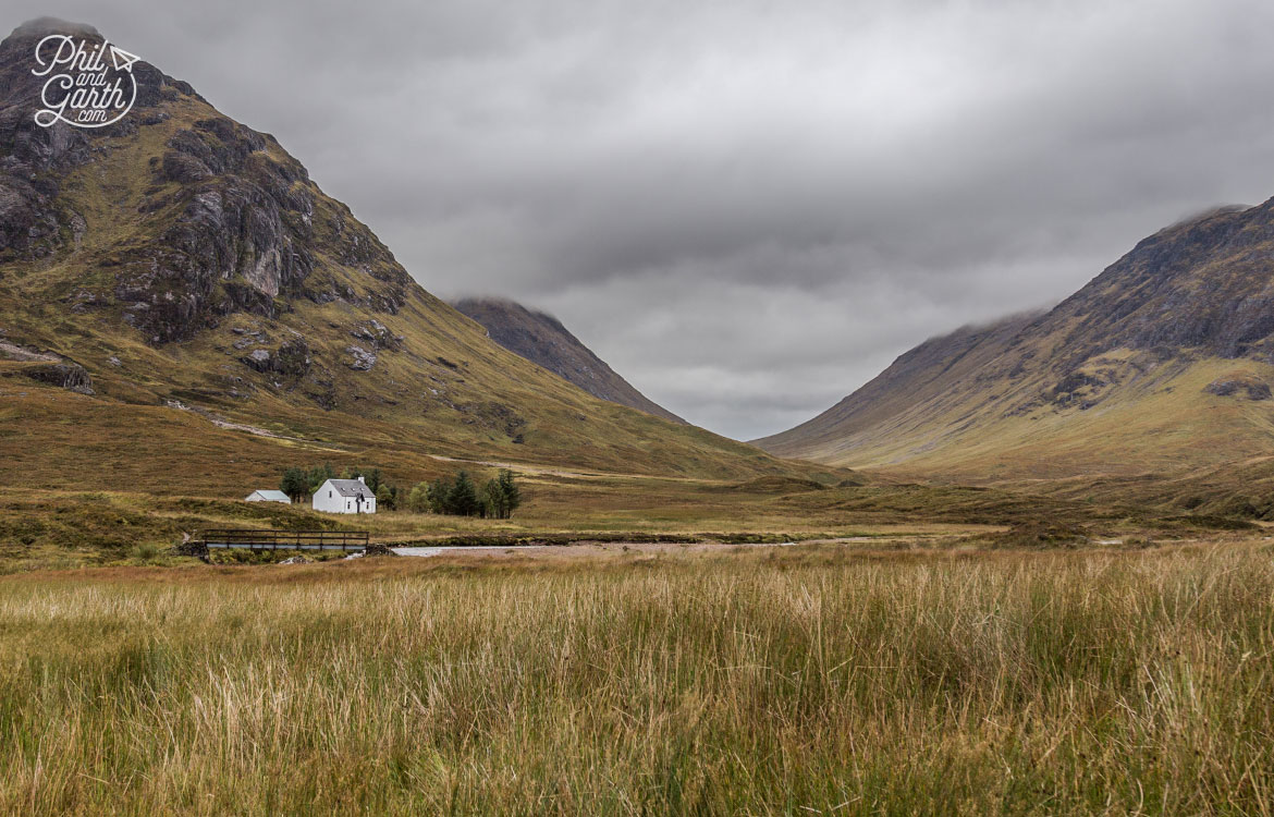 Scottish Highlands in 7 Days - A lone house in Glen Coe