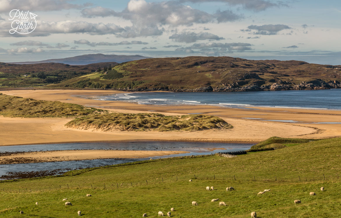 Scottish Highlands in 7 Days - Incredible empty beaches along the North Coast 500