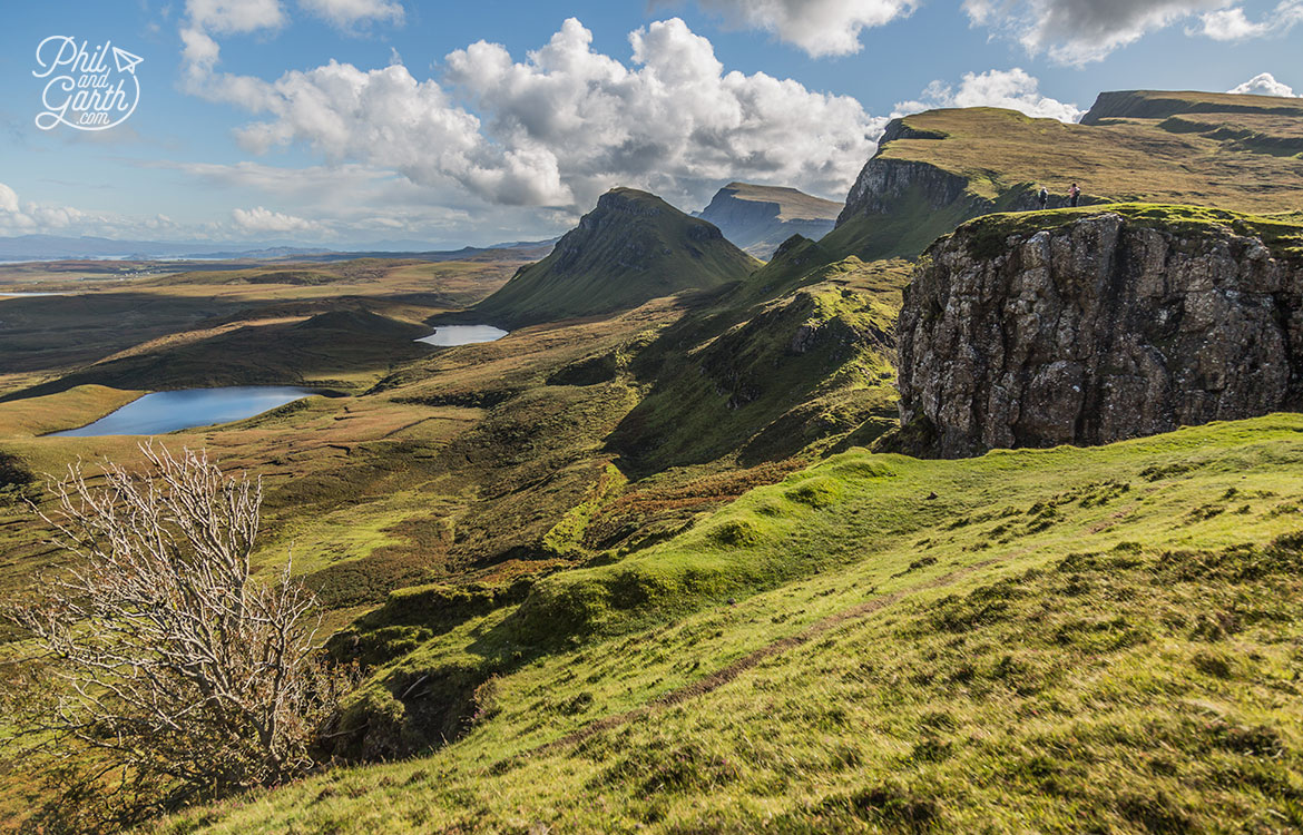 Stupendous views from the Quiraing, Isle of Skye