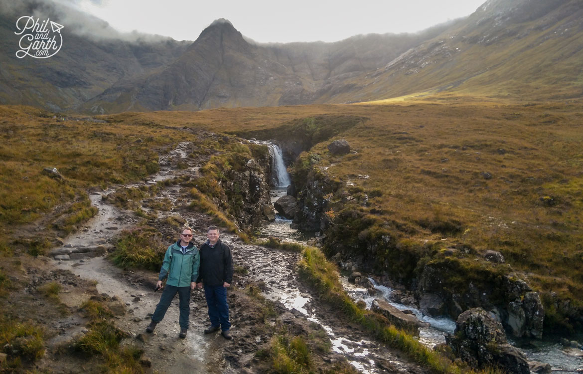 The natural beauty spot of The Fairy Pools