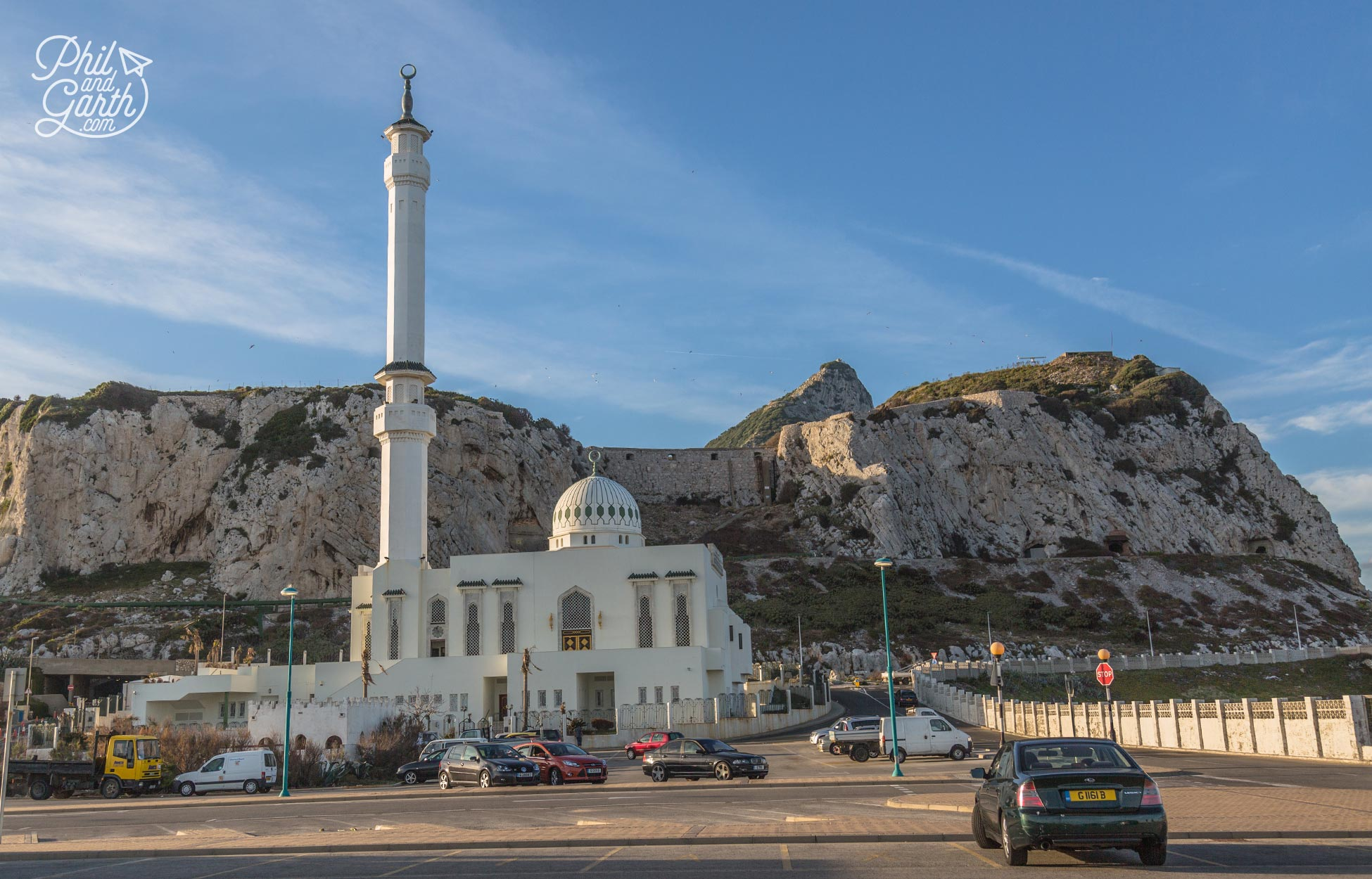 The Ibrahim-al-Ibrahim mosque at Europa Point