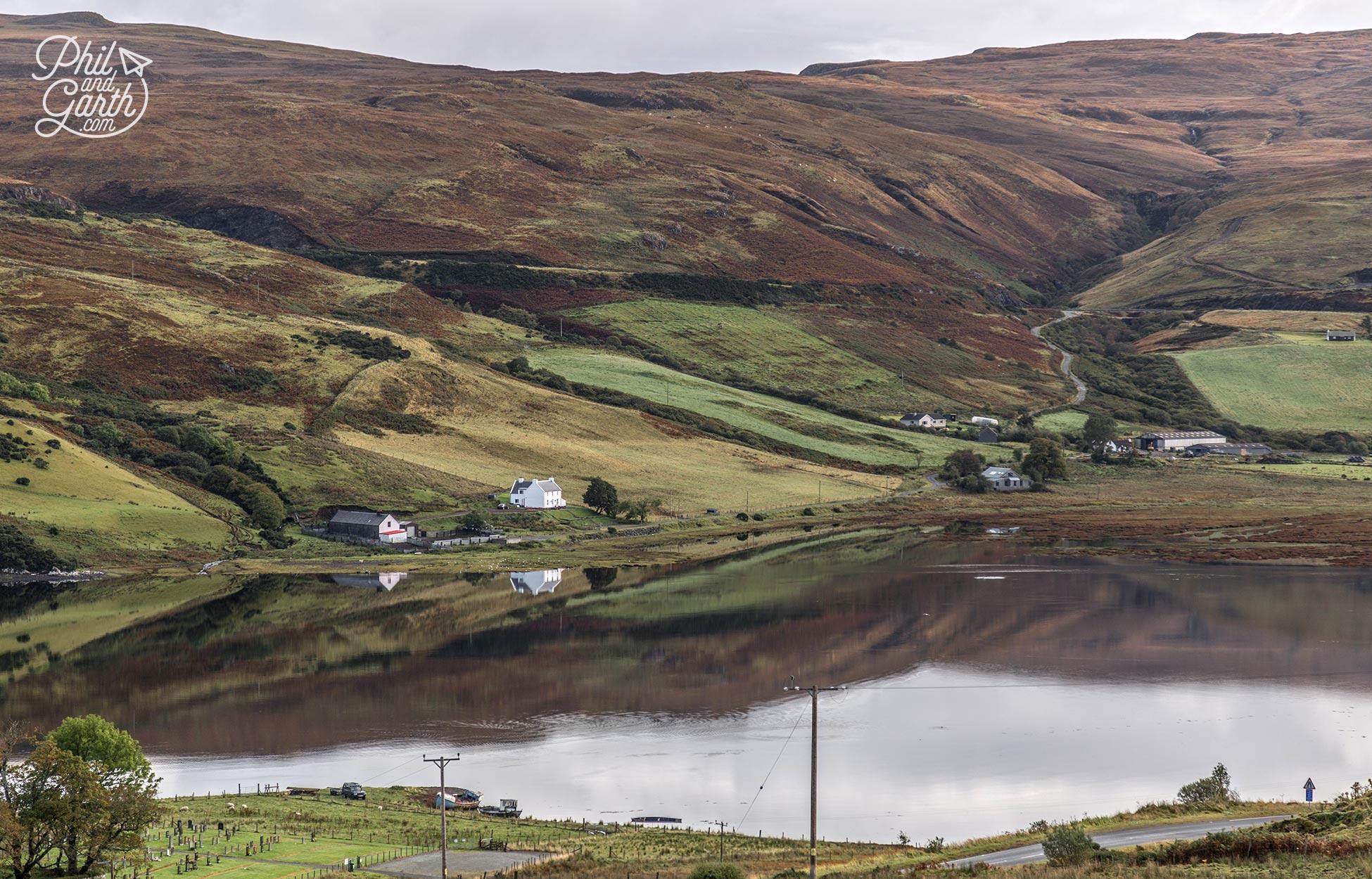 One of the many Isle of Skye fabulous landscapes