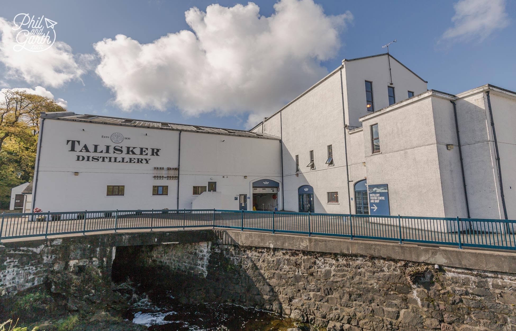 The Talisker Distillery Isle of Skye