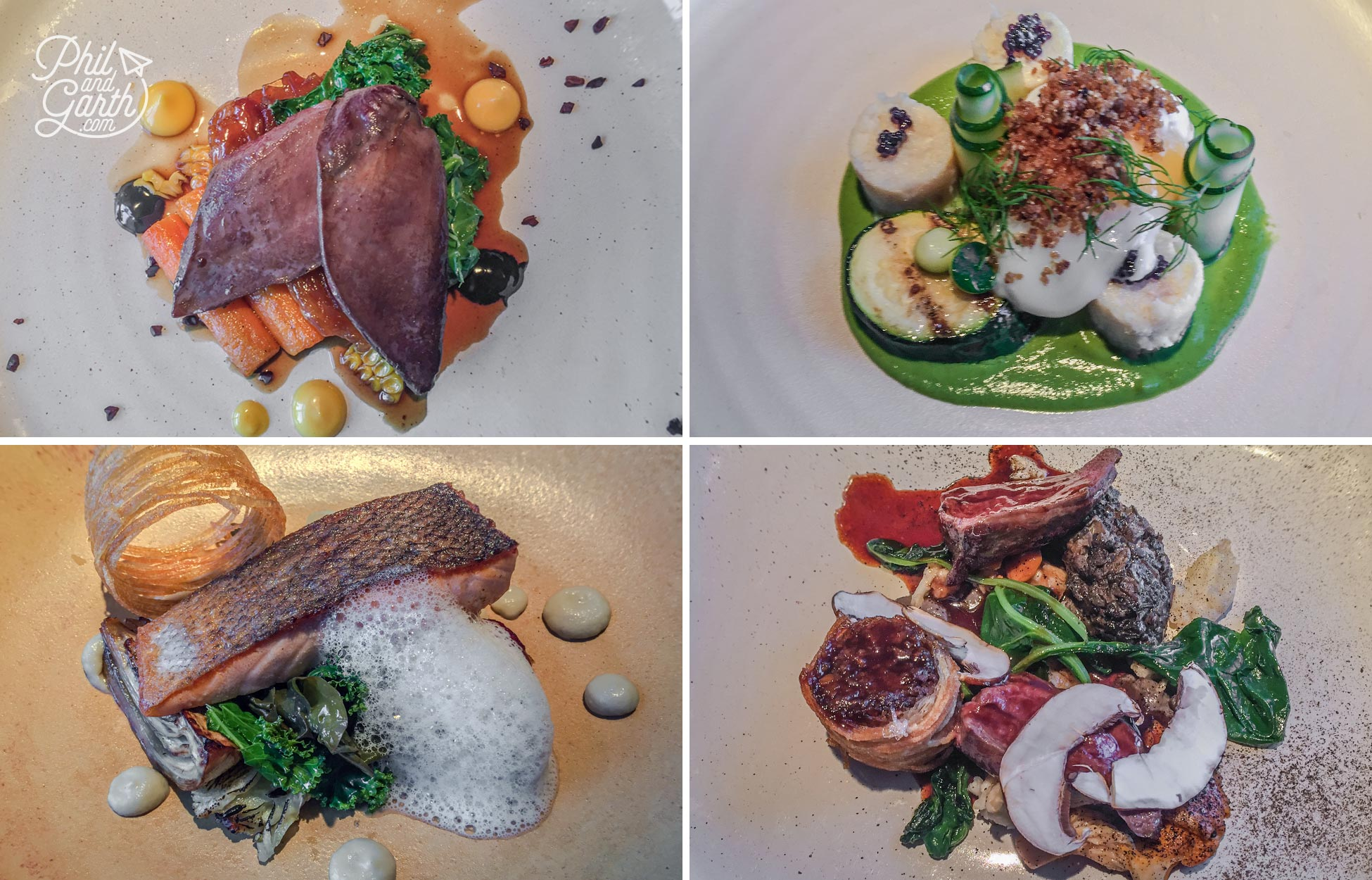 Our delicious dishes at The Three Chimneys