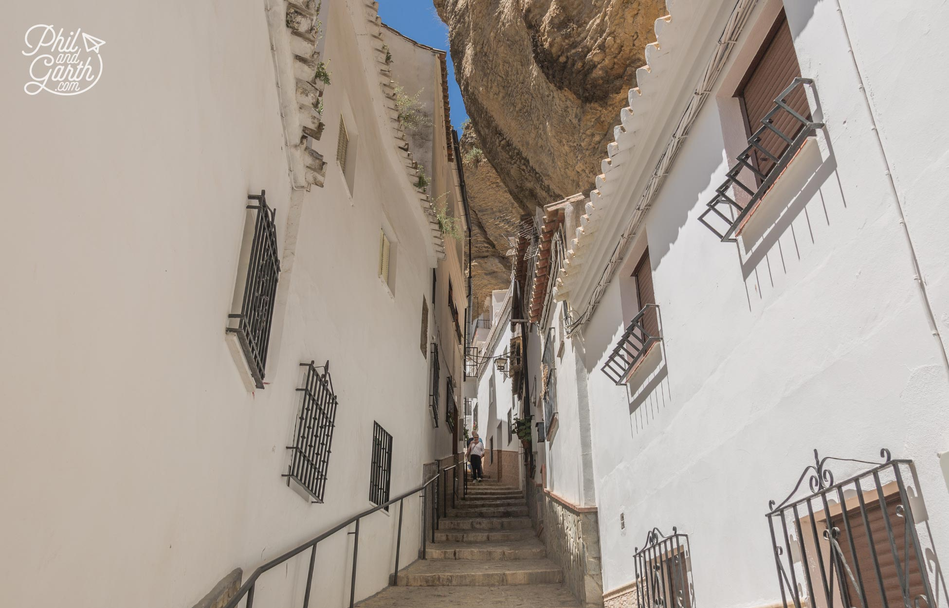 Calle Herrería is the oldest street in Setenil de las Bodegas
