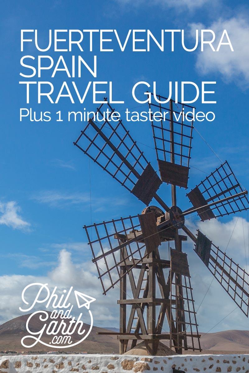 Fuerteventura Spain Travel Guide