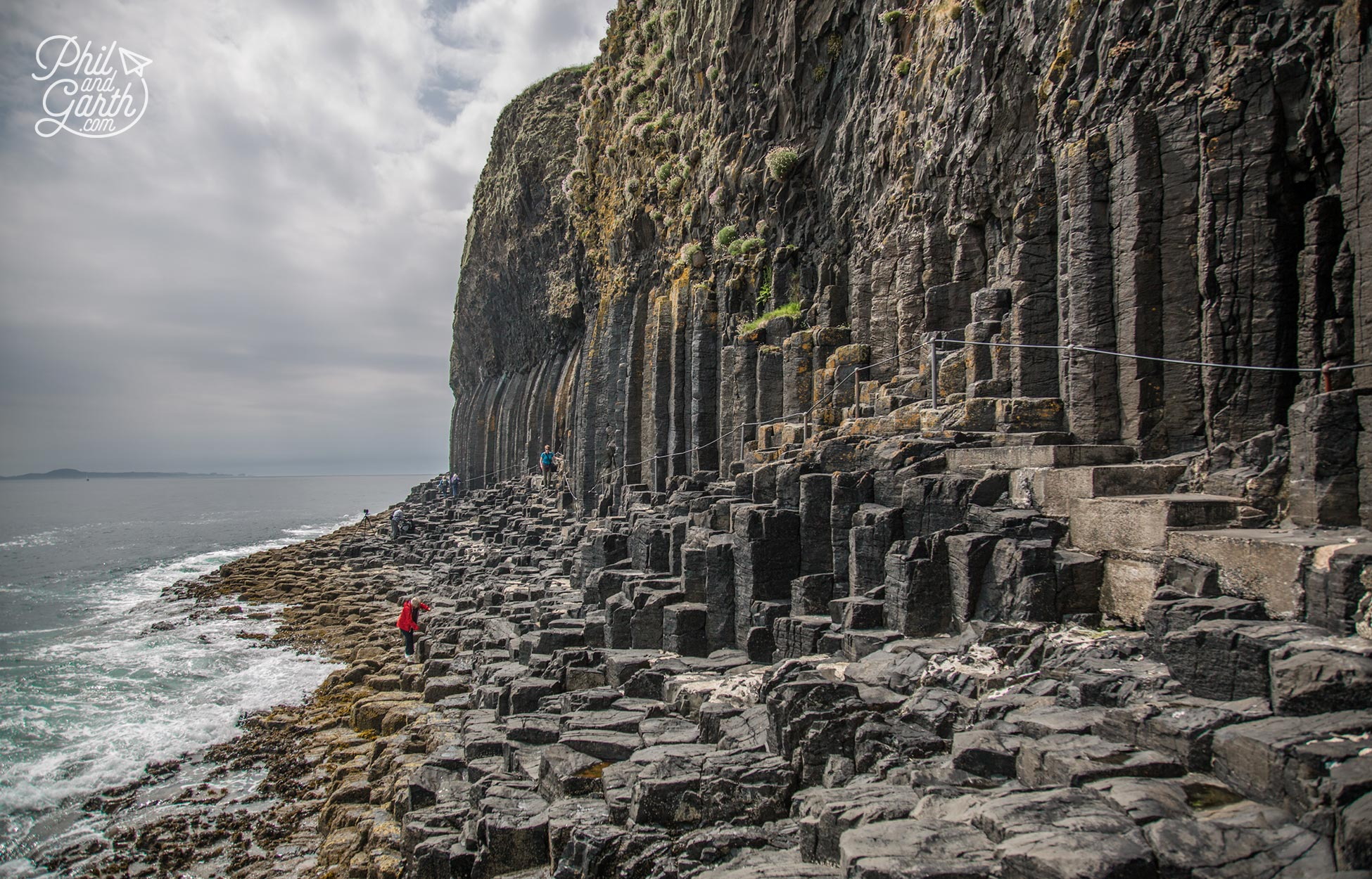 The rugged beauty of the Isle of Staffa