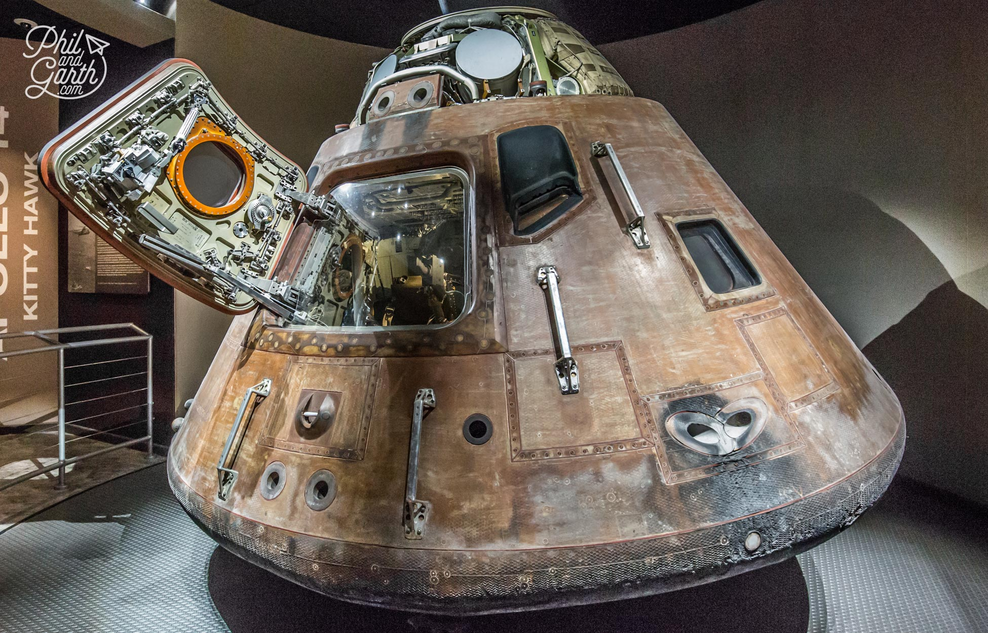 The Apollo 14 command module