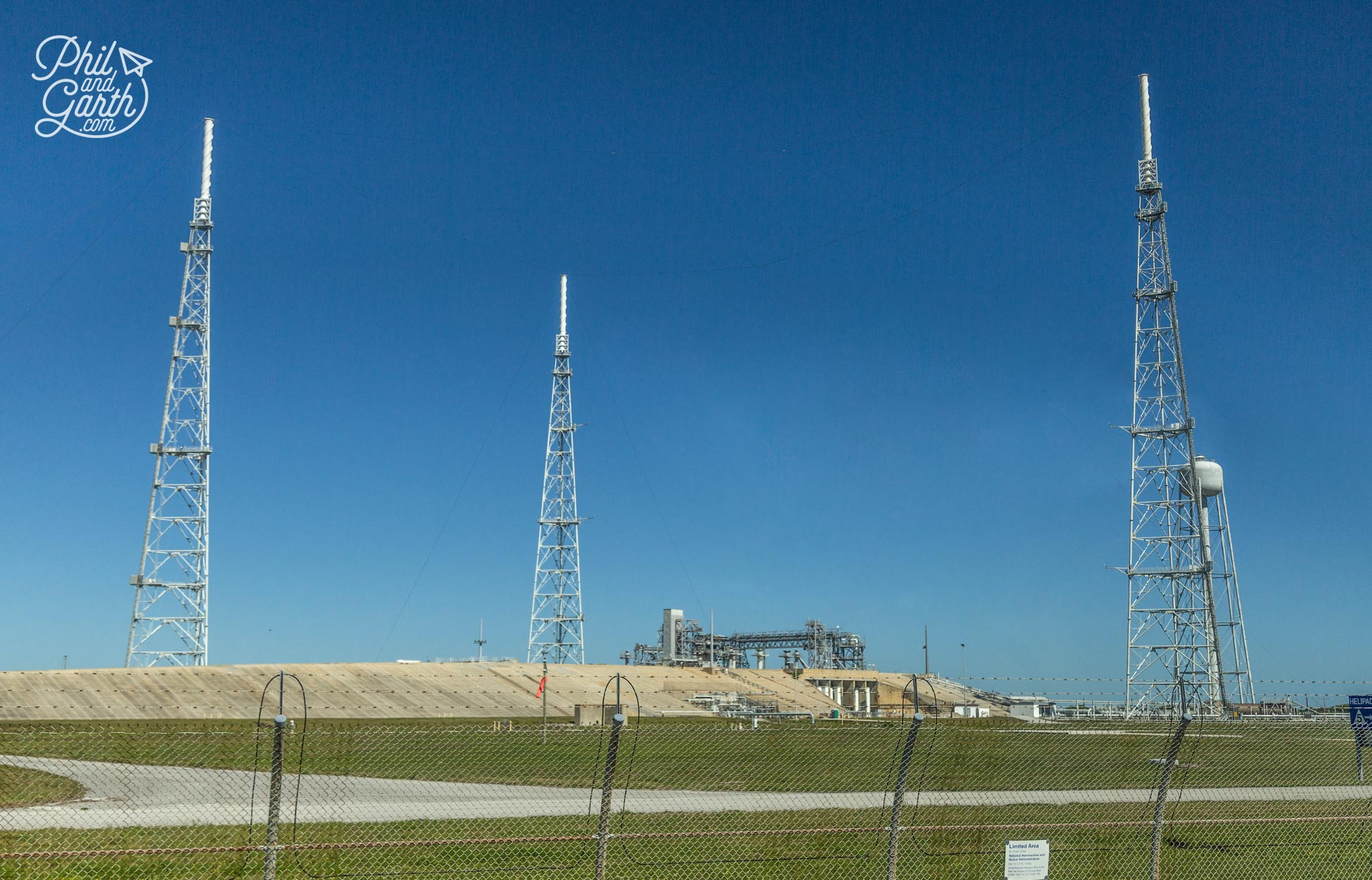 Launch pad 39B which will be used for NASAs next generation of deep space launches