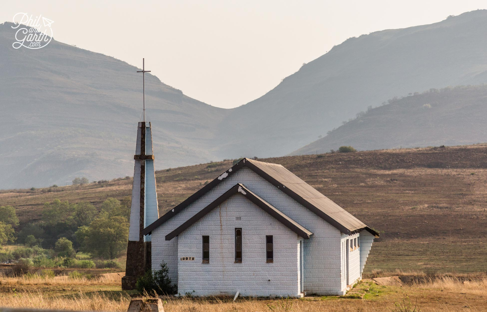 A lone church near God's Window
