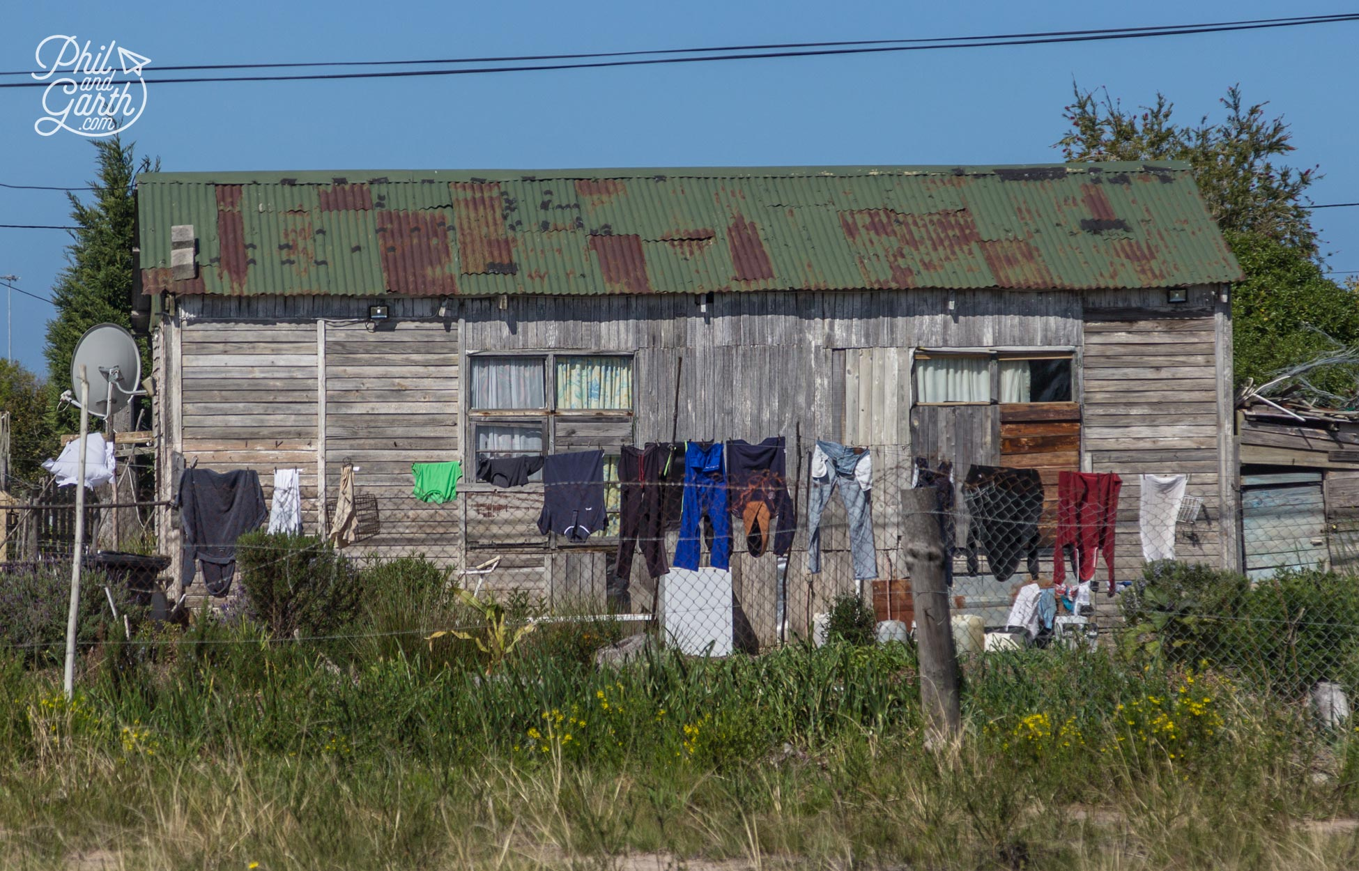 A township home just outside Plettenberg Bay