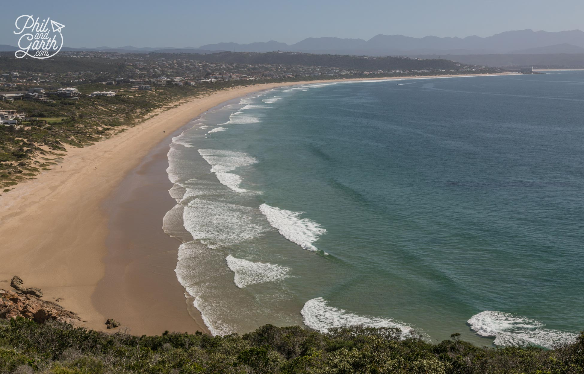 Beautiful Plettenburg Bay, beaches have miles and miles of golden sand