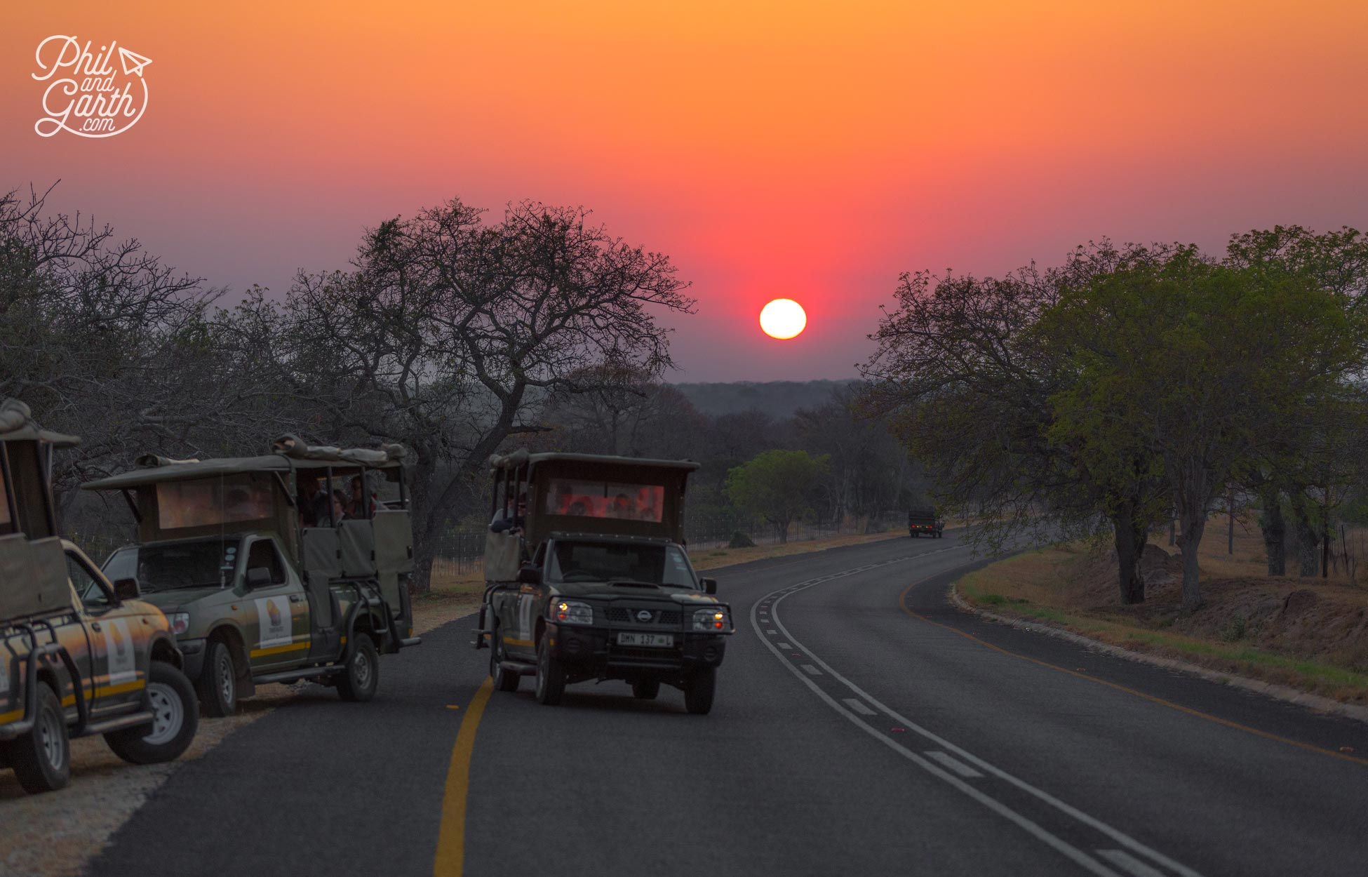 2 day Kruger National Park Safari - Early morning start - time to hit the main road to Kruger National Park
