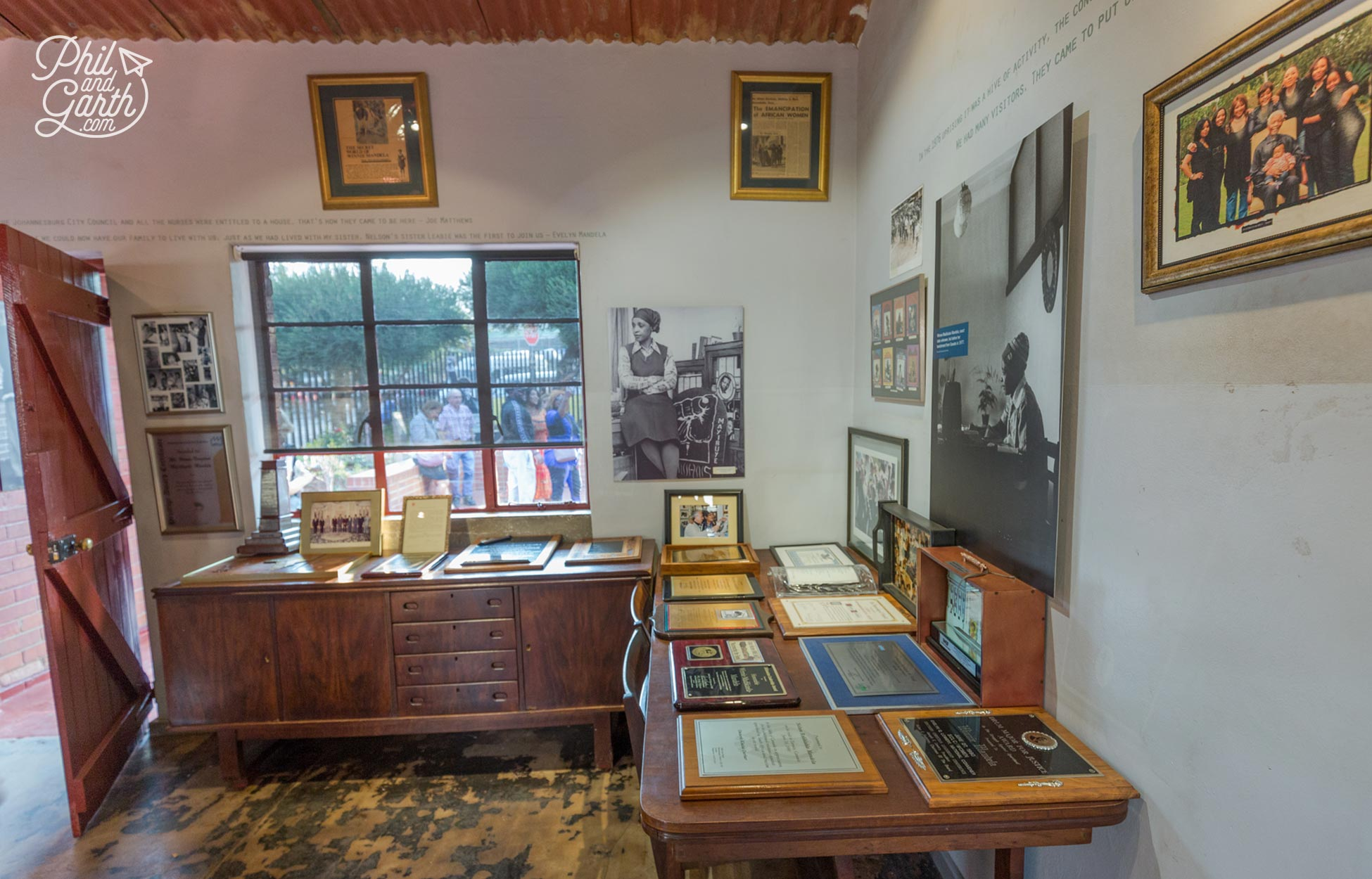 Inside Nelson Mandela's house