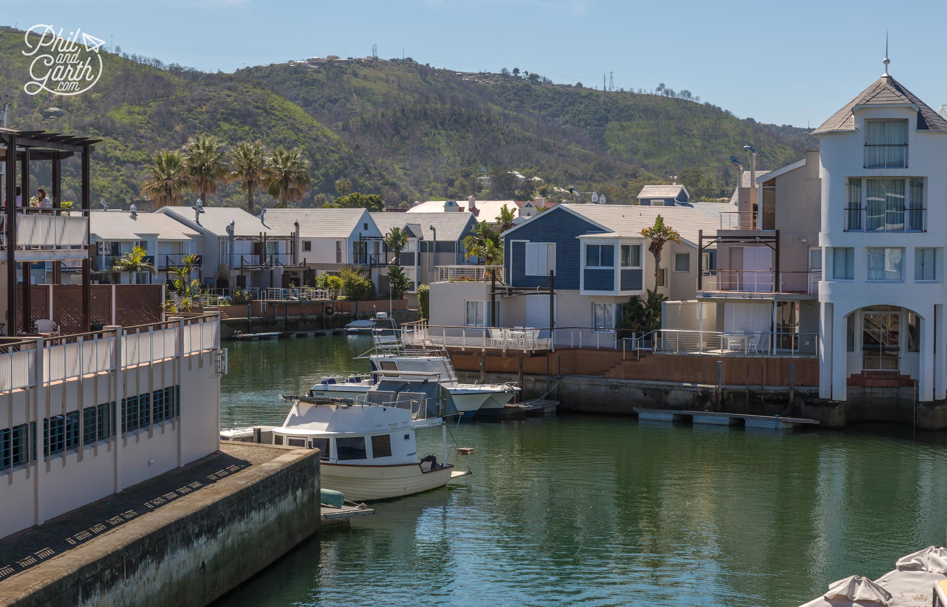 Some nice waterfront homes