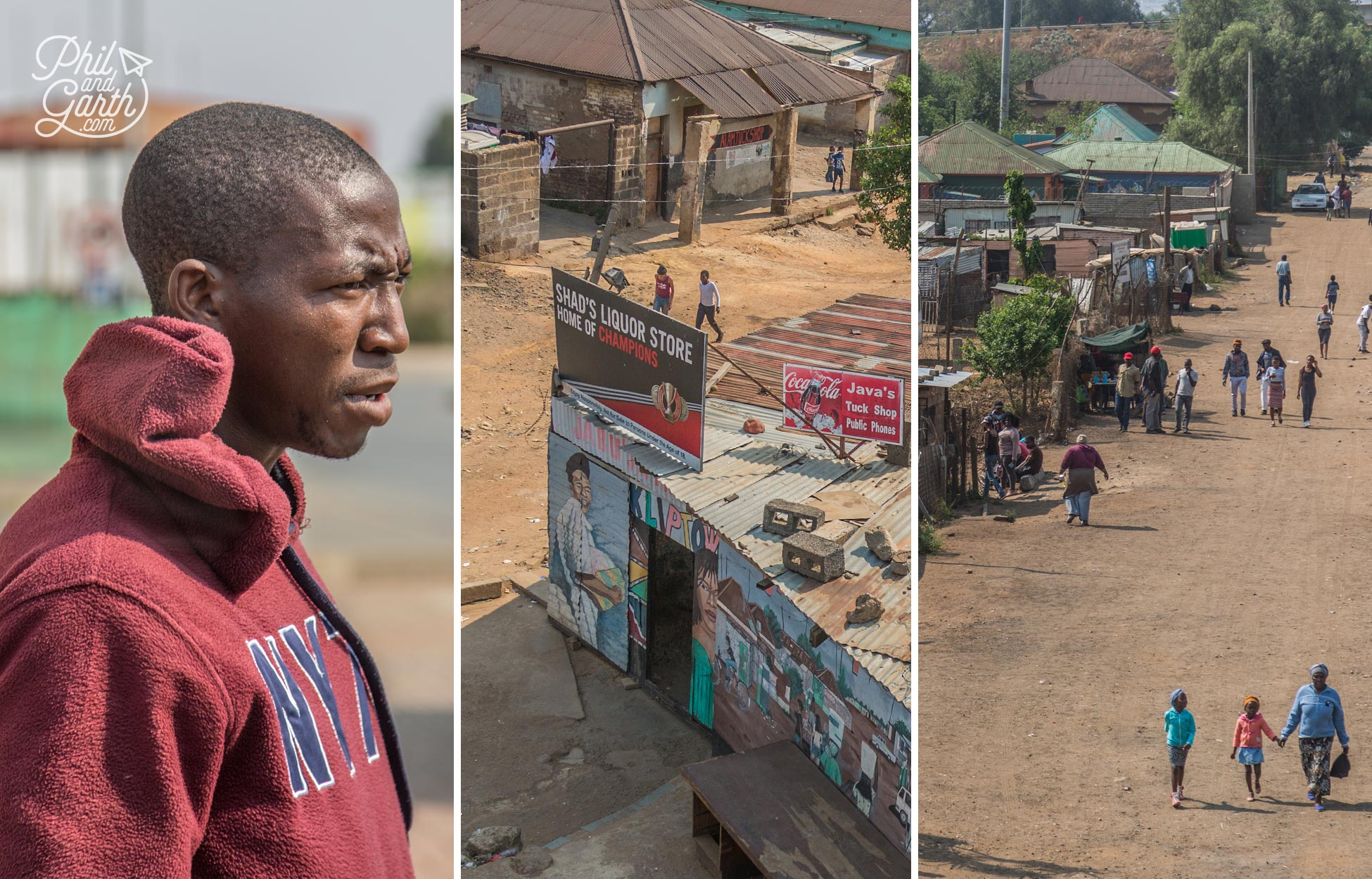 Our guide explains what its like to live in a township