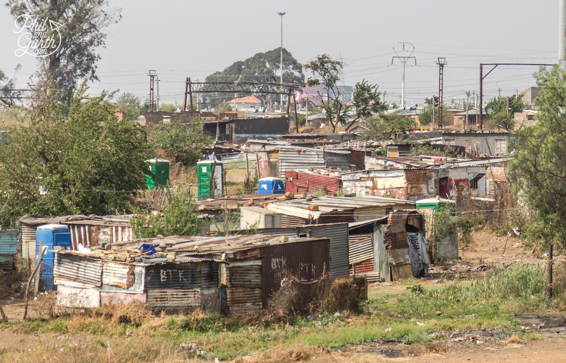 A smaller Soweto township