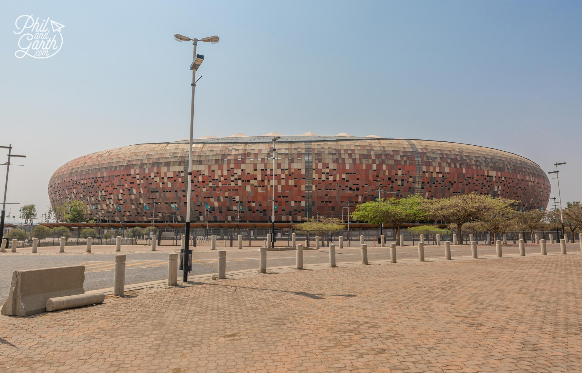 The FNB Stadium in Johannesburg