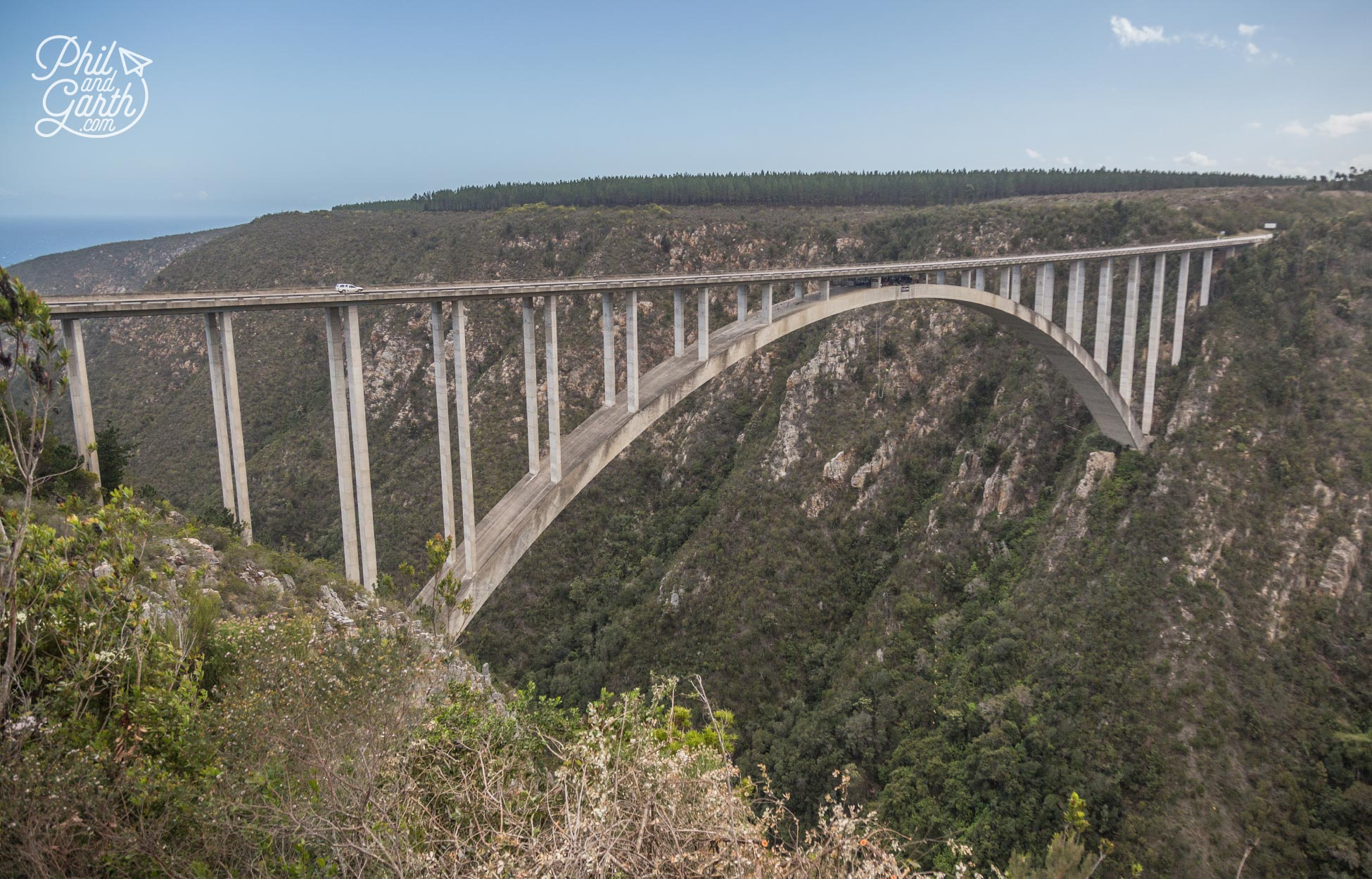The Garden Route - 4 Day Itinerary - Thrill seekers will love Bloukrans Bungy from Africa's biggest bridge