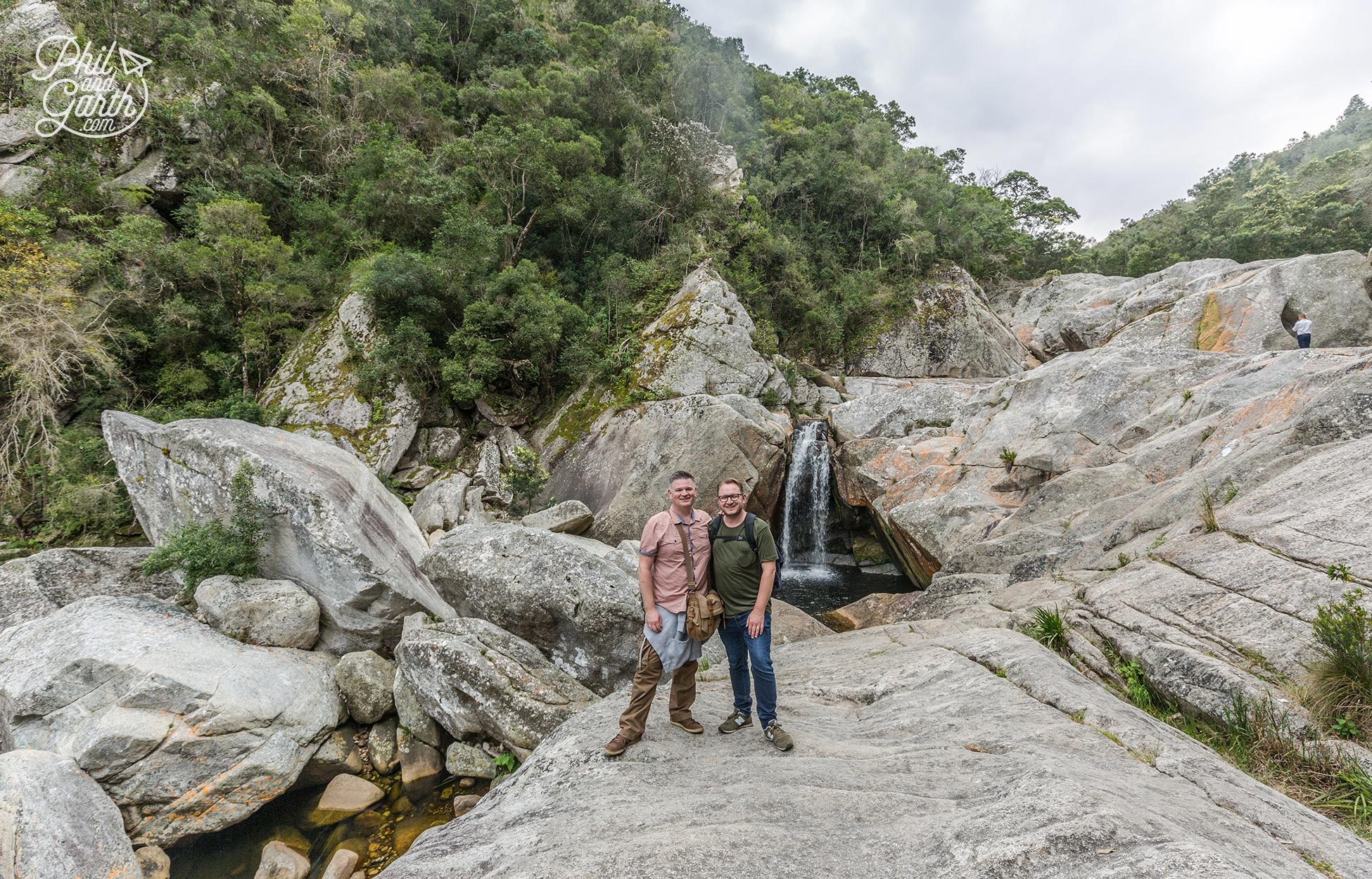 We finally made it to the waterfall at Wilderness National Park