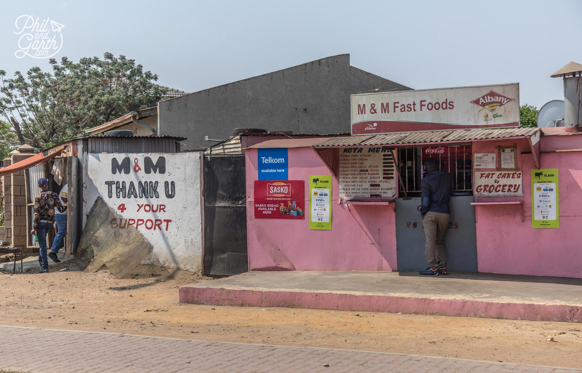 Fast food Soweto style