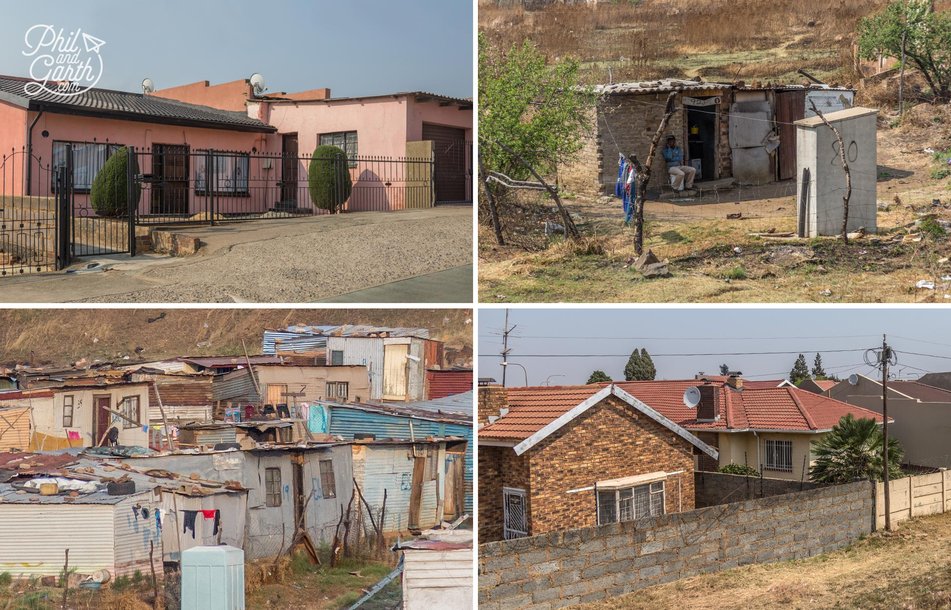 The housing division in Soweto