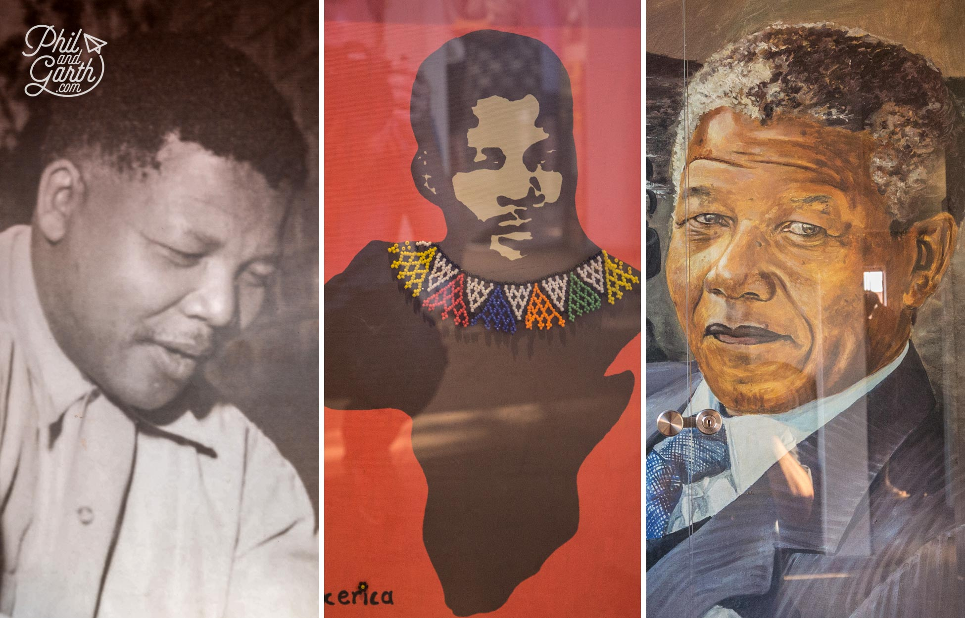 Images of Nelson Mandela in the home