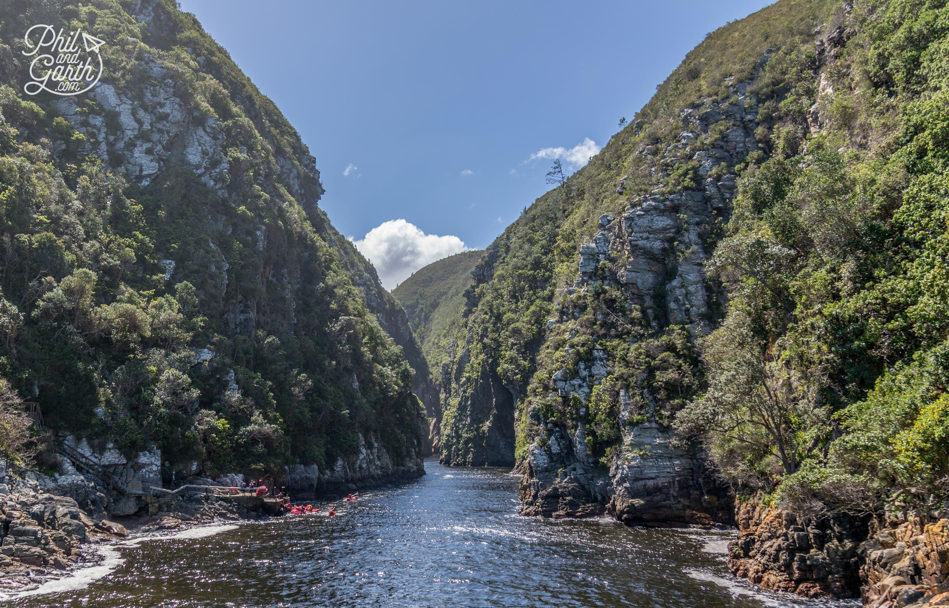 Kayaking, snorkelling and scuba opportunities in the gorge - ask at the boat house