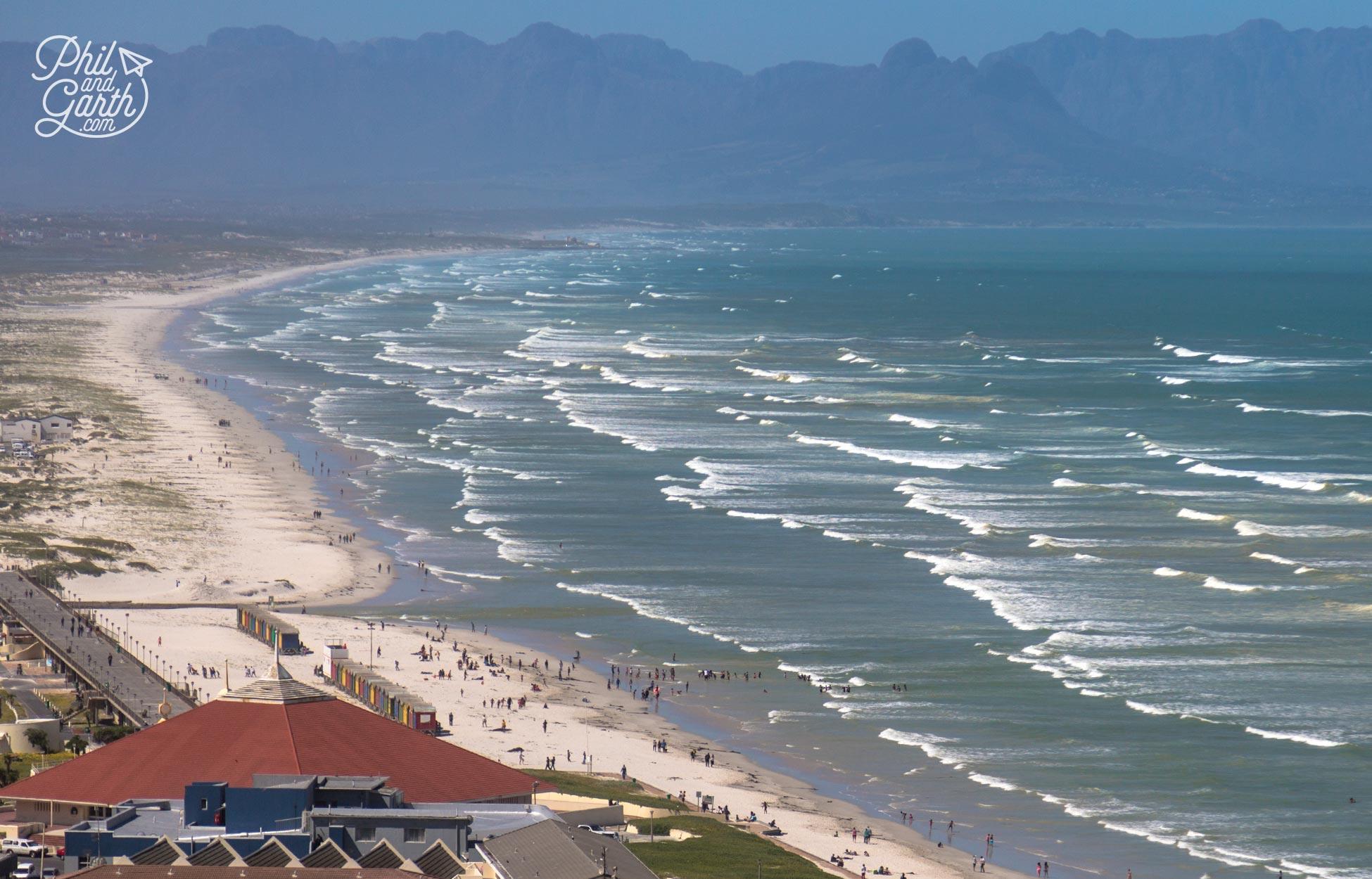 Muizenberg Beach near Cape Town