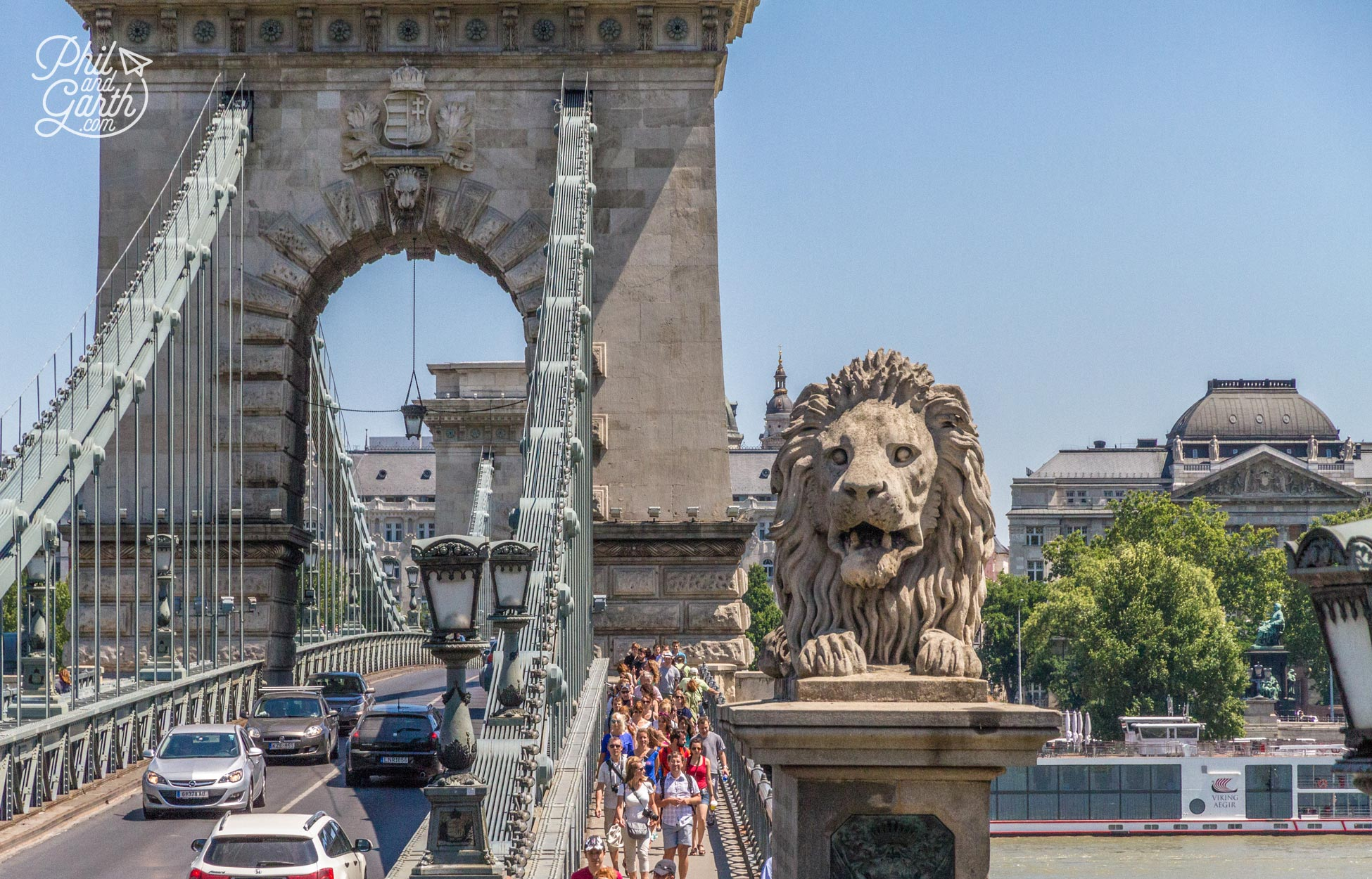 The famous Chain Bridge, Budapest In 2 Days