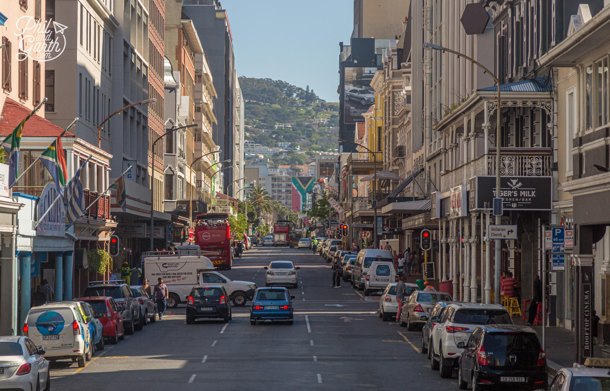 Long Street for some of Cape Town's hippest hangouts