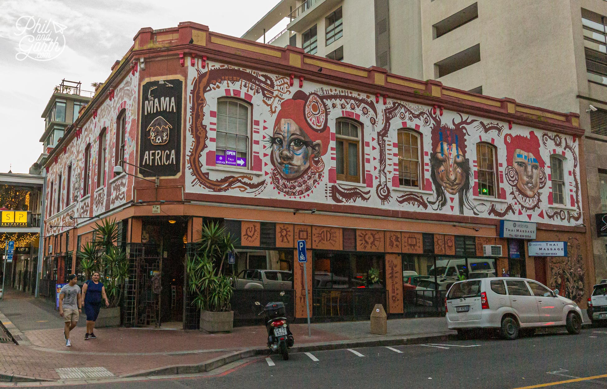 Mama Africa on Long Street is a Cape Town institution