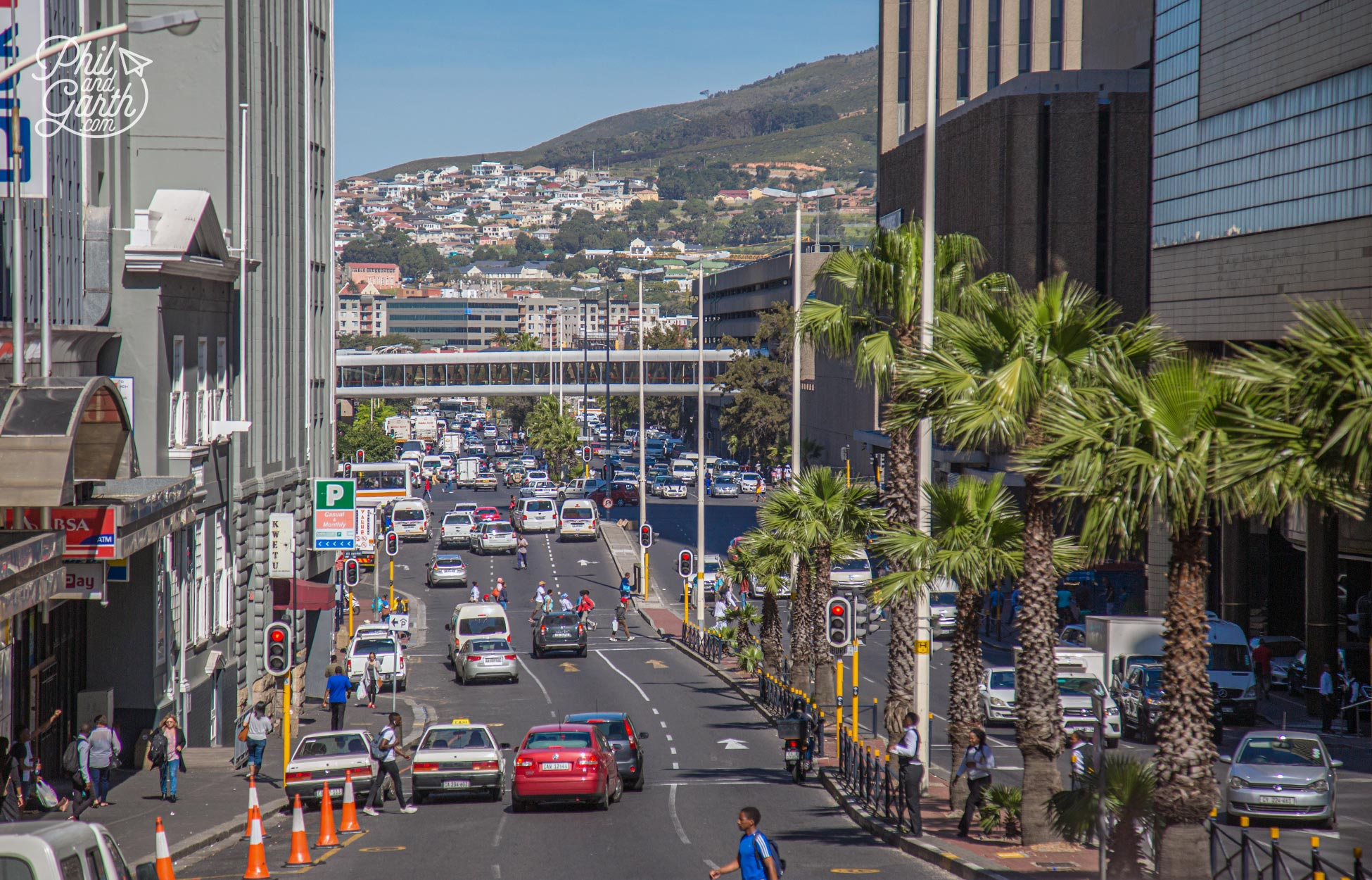 Cape Town's urban sprawl reminded us of Los Angeles