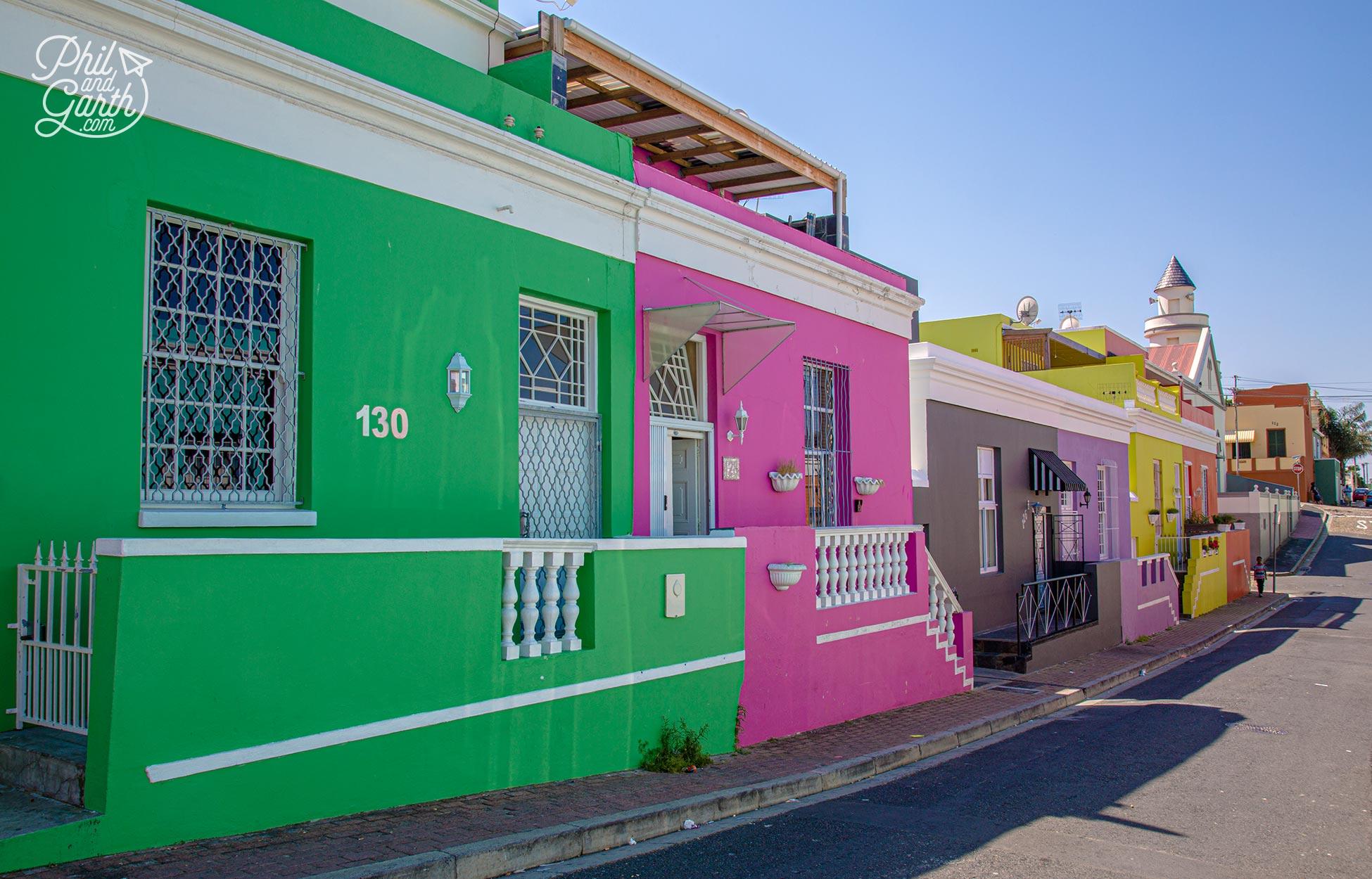 Ridiculously colourful Bo-Kaap