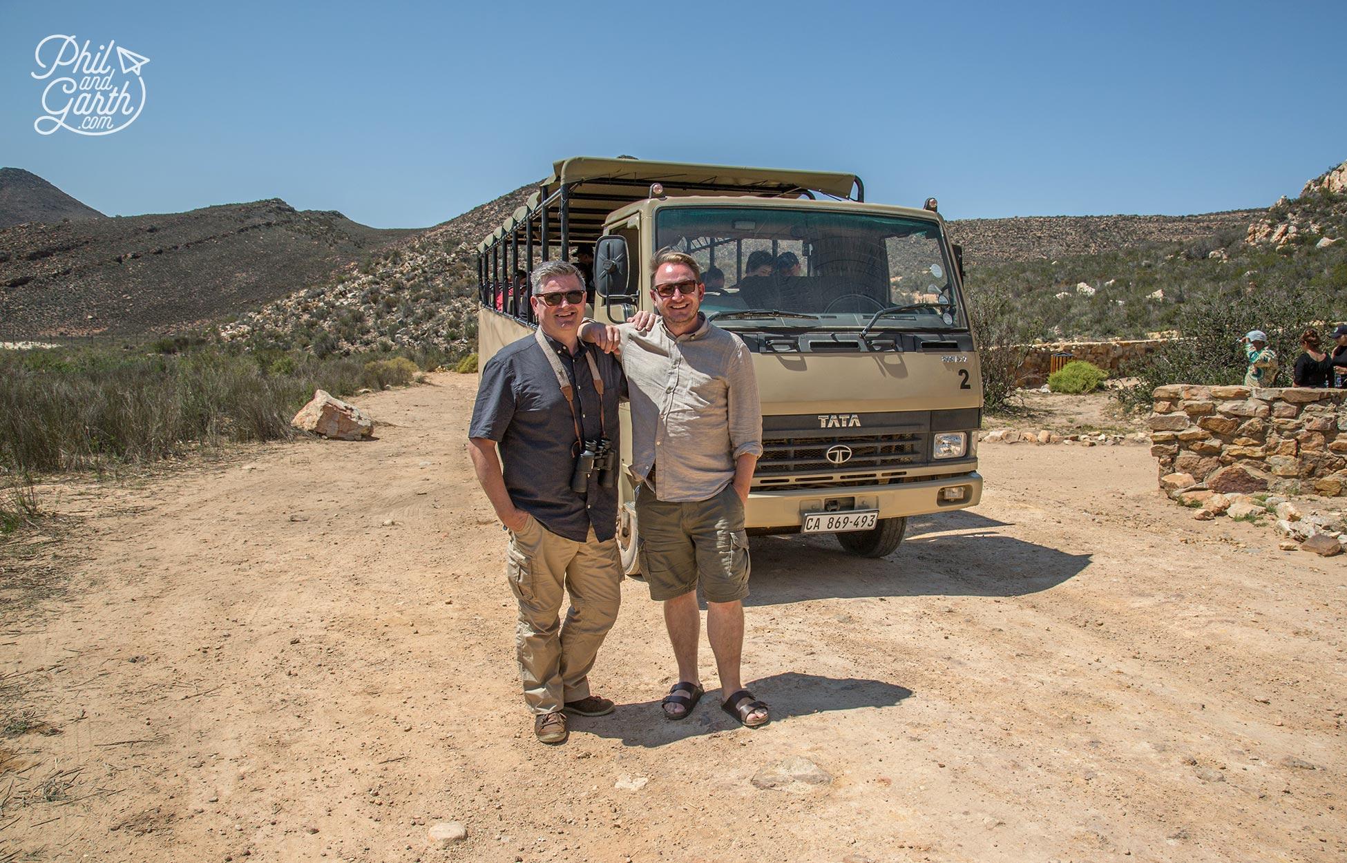 Big 5 safari near Cape Town - The Aquila Private Game Reserve
