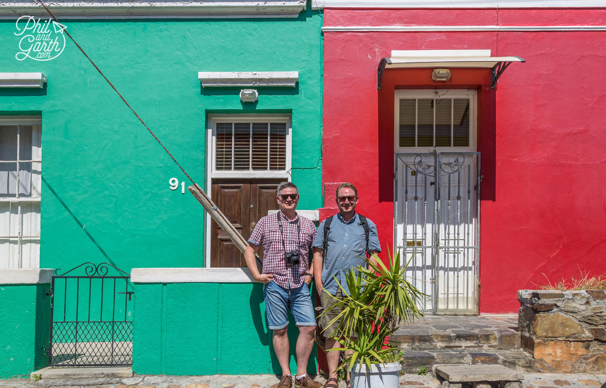 Phil and Garth in Bo-Kaap