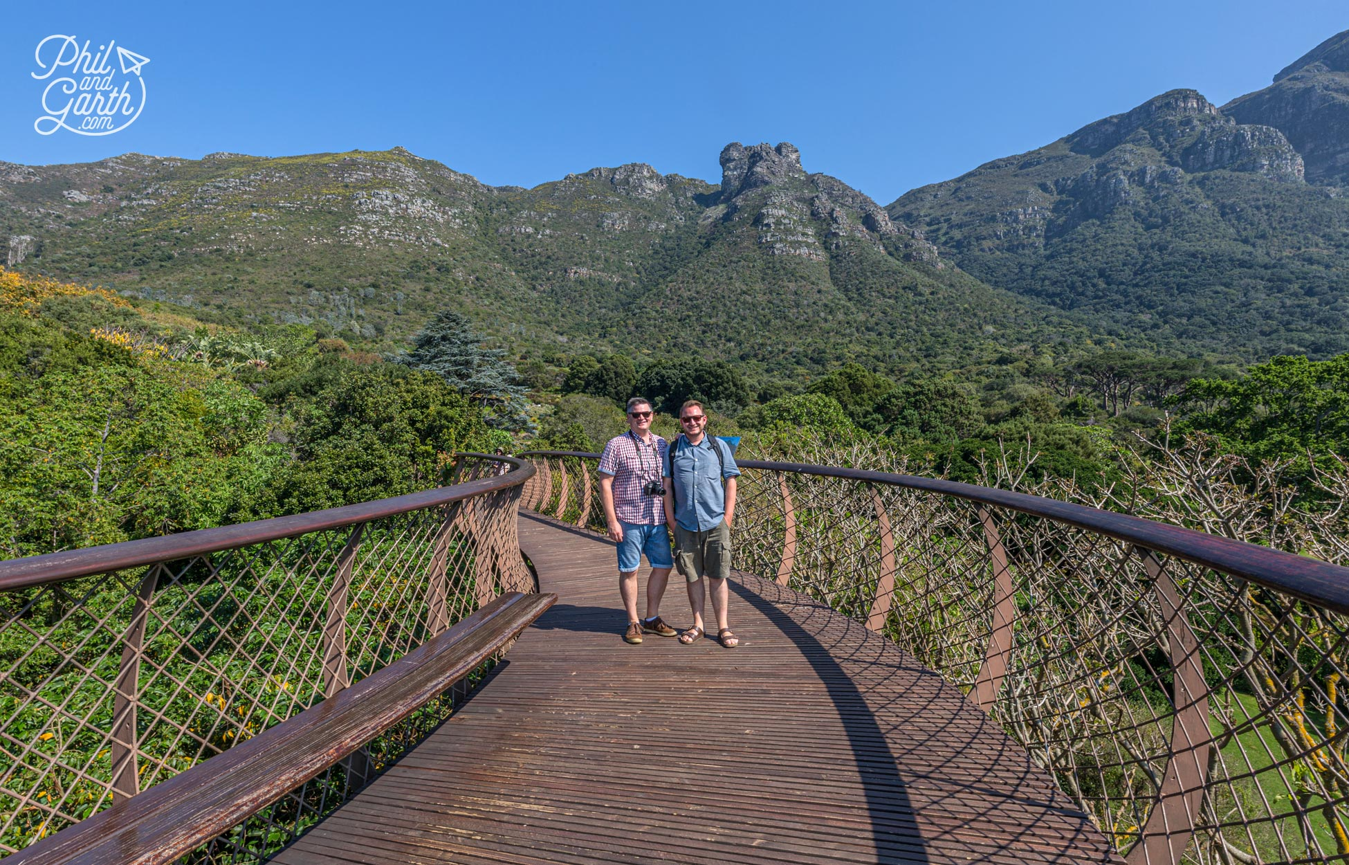 Phil and Garth Kirstenbosch's Tree Canopy Walkway