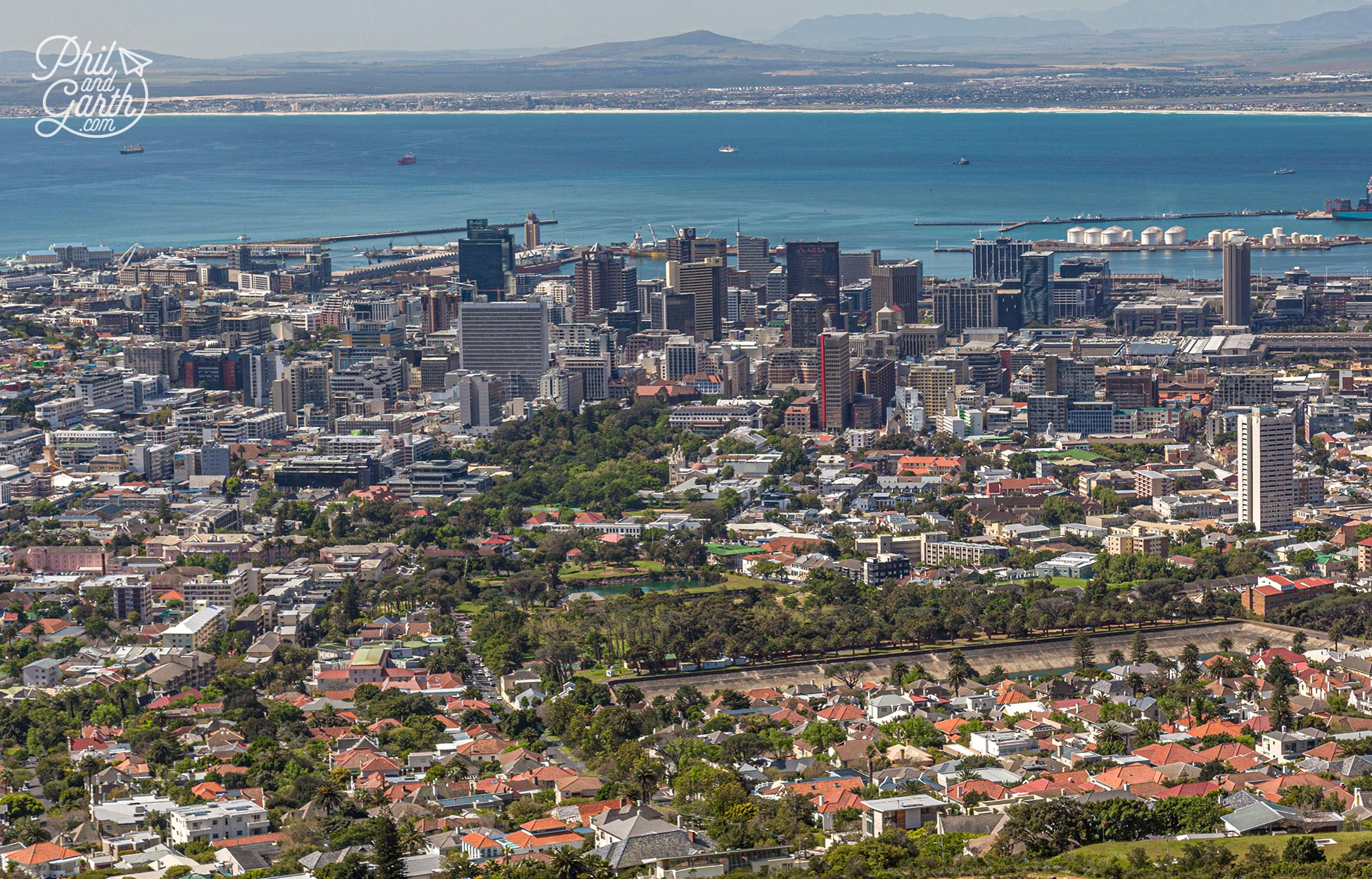 Cape Town is a BIG city made up of lots of small neighbourhoods