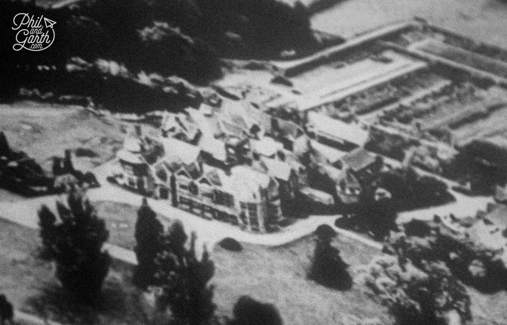 Old photographs show Bletchley was surrounded by countryside, today it's surrounded by houses