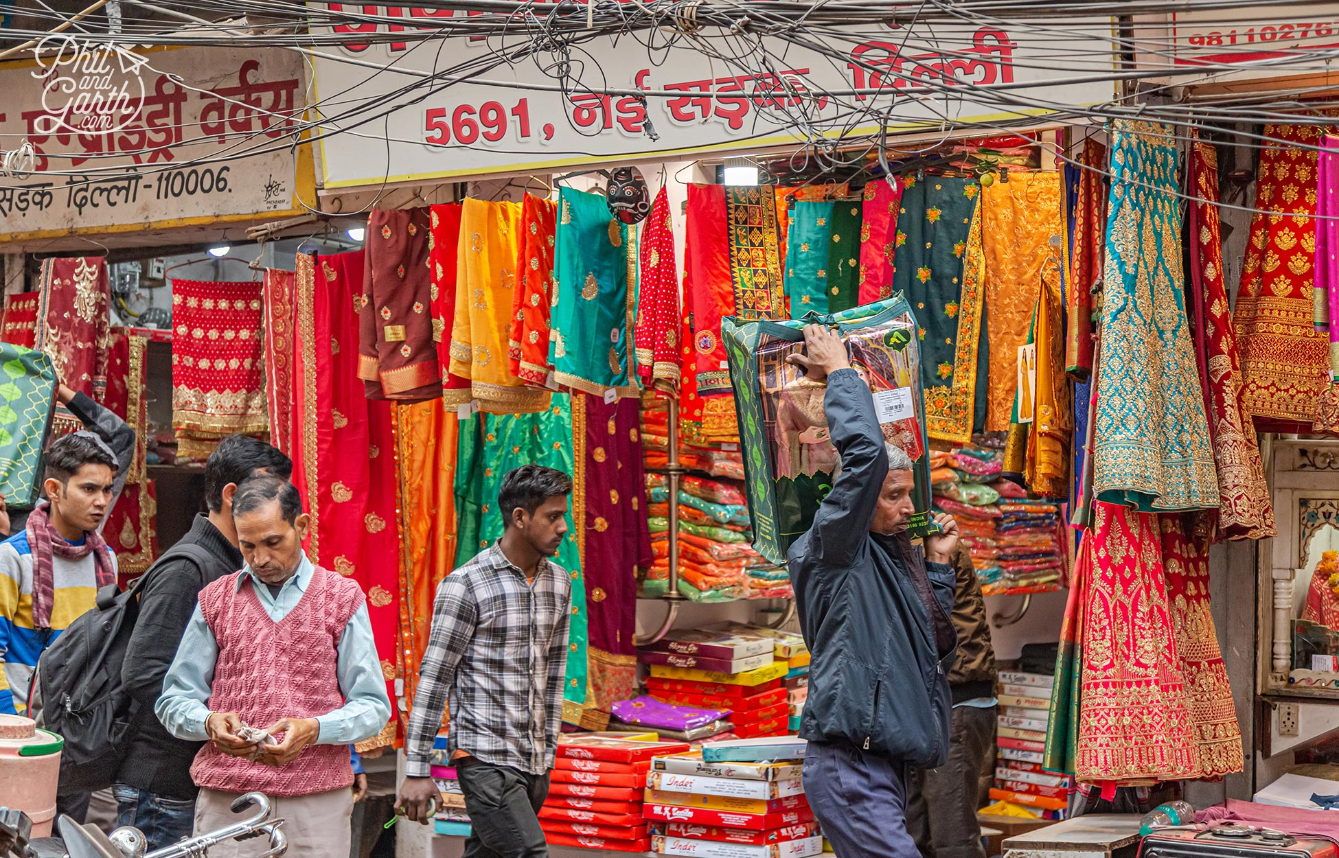 Chandi Chowk is a visual feast for the eyes!