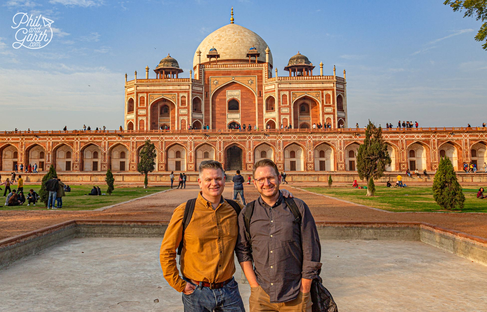 Humayun's Tomb was the inspiration behind the design of the Taj Mahal in Agra