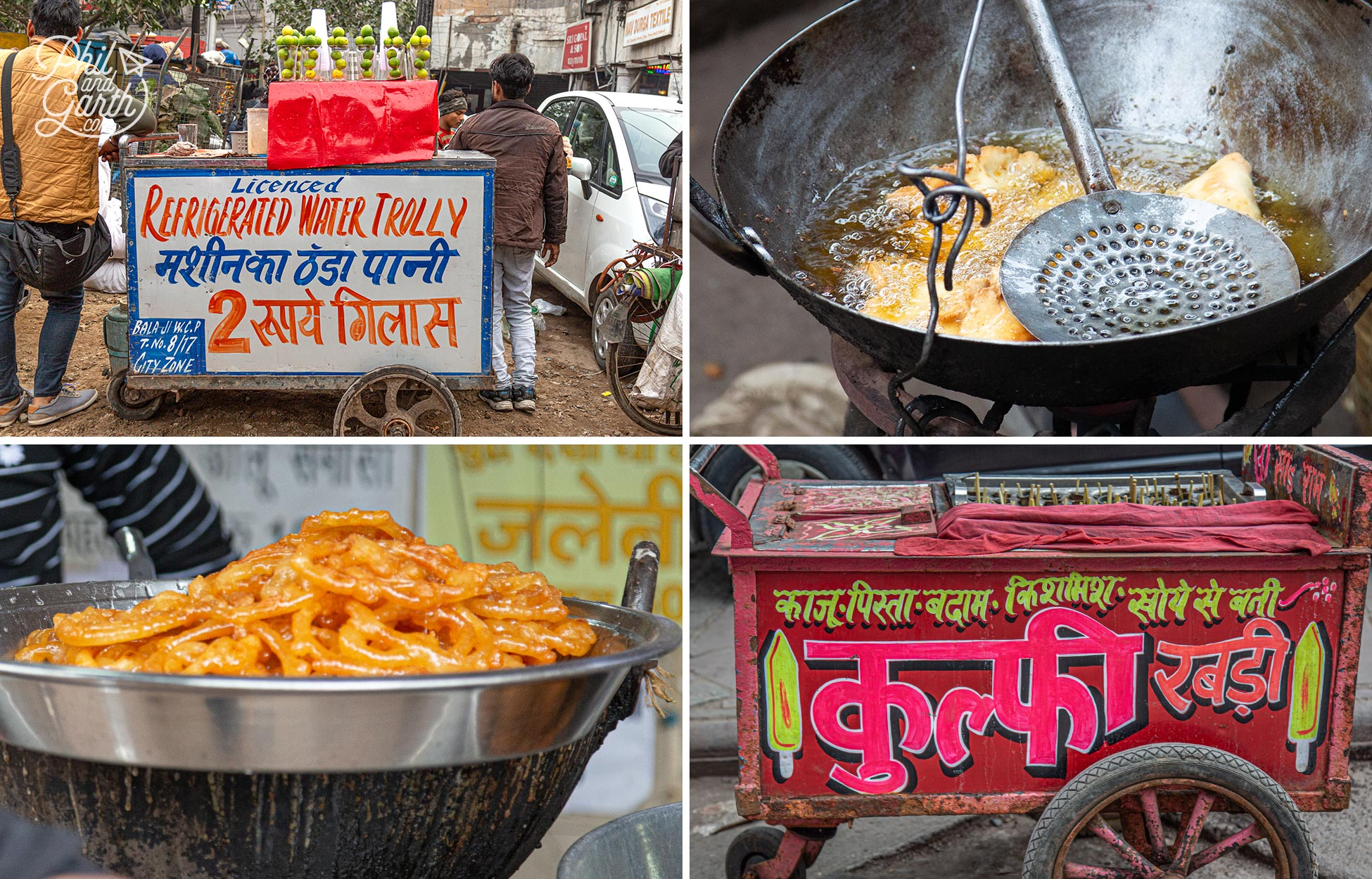 Only eat street food that's hot and cooked fresh in front of you