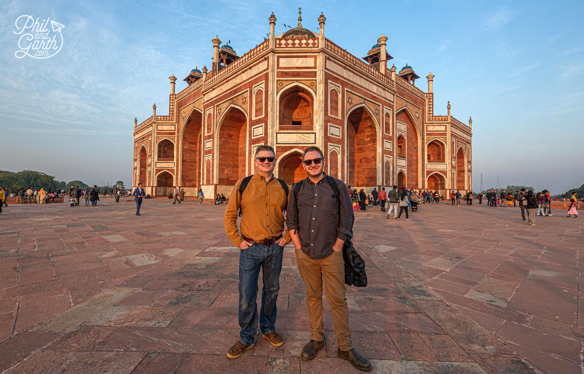 Phil and Garth's Top 5 Delhi Tips