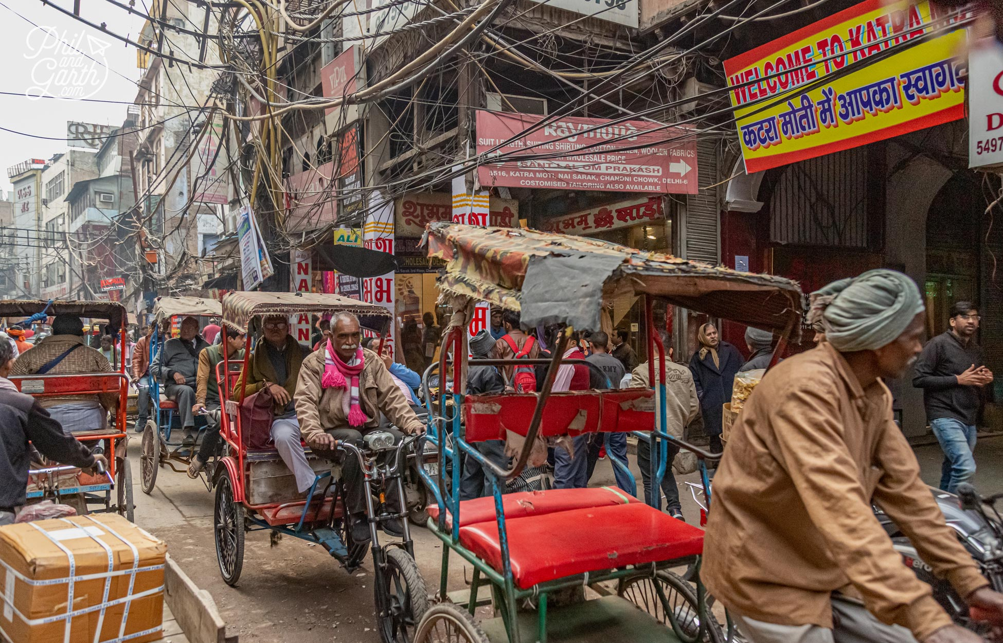The Chandi Chowk Market really has to be seen to be believed