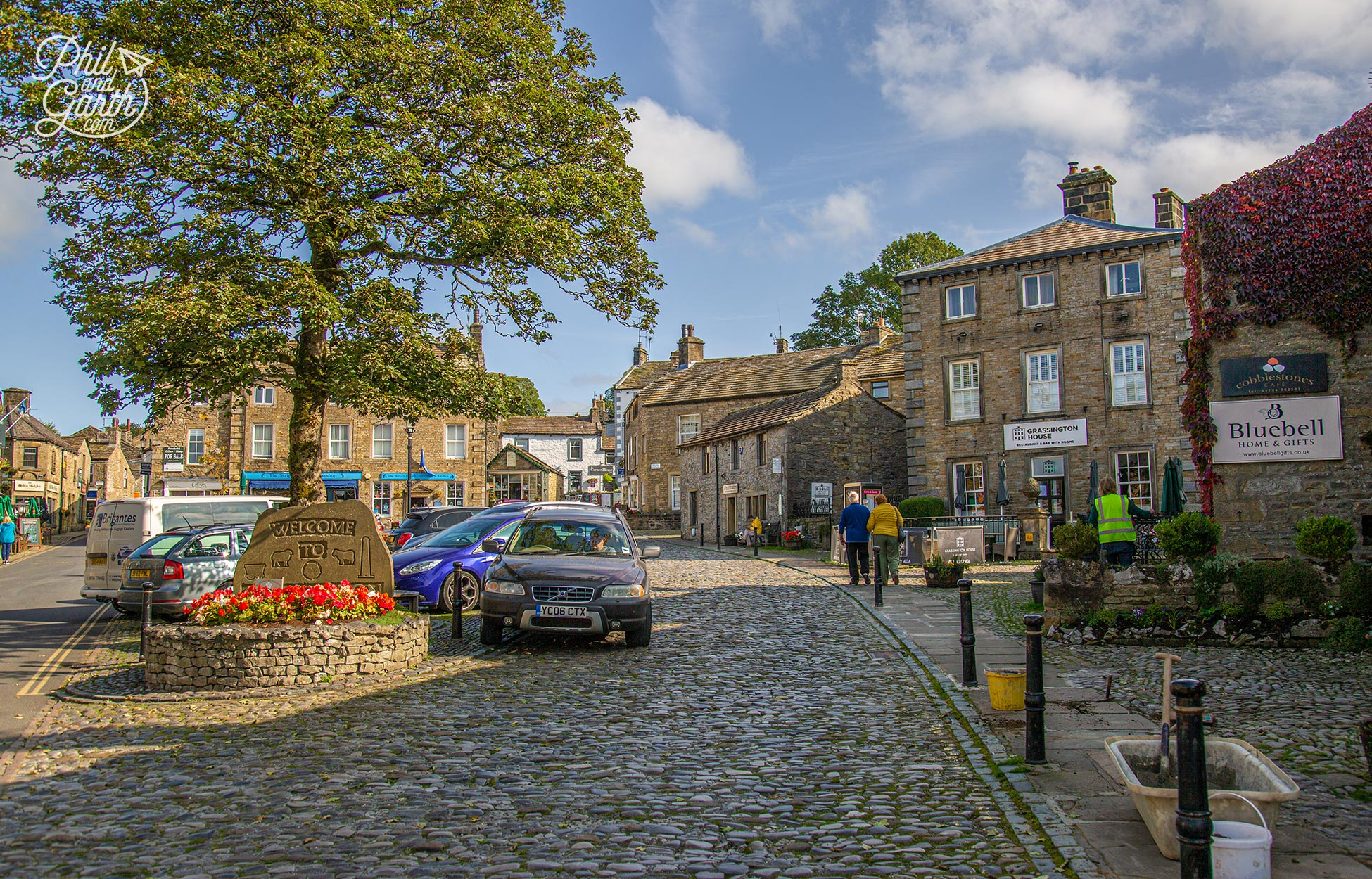 The arty village of Grassington - The prettiest of the Yorkshire Dales villages