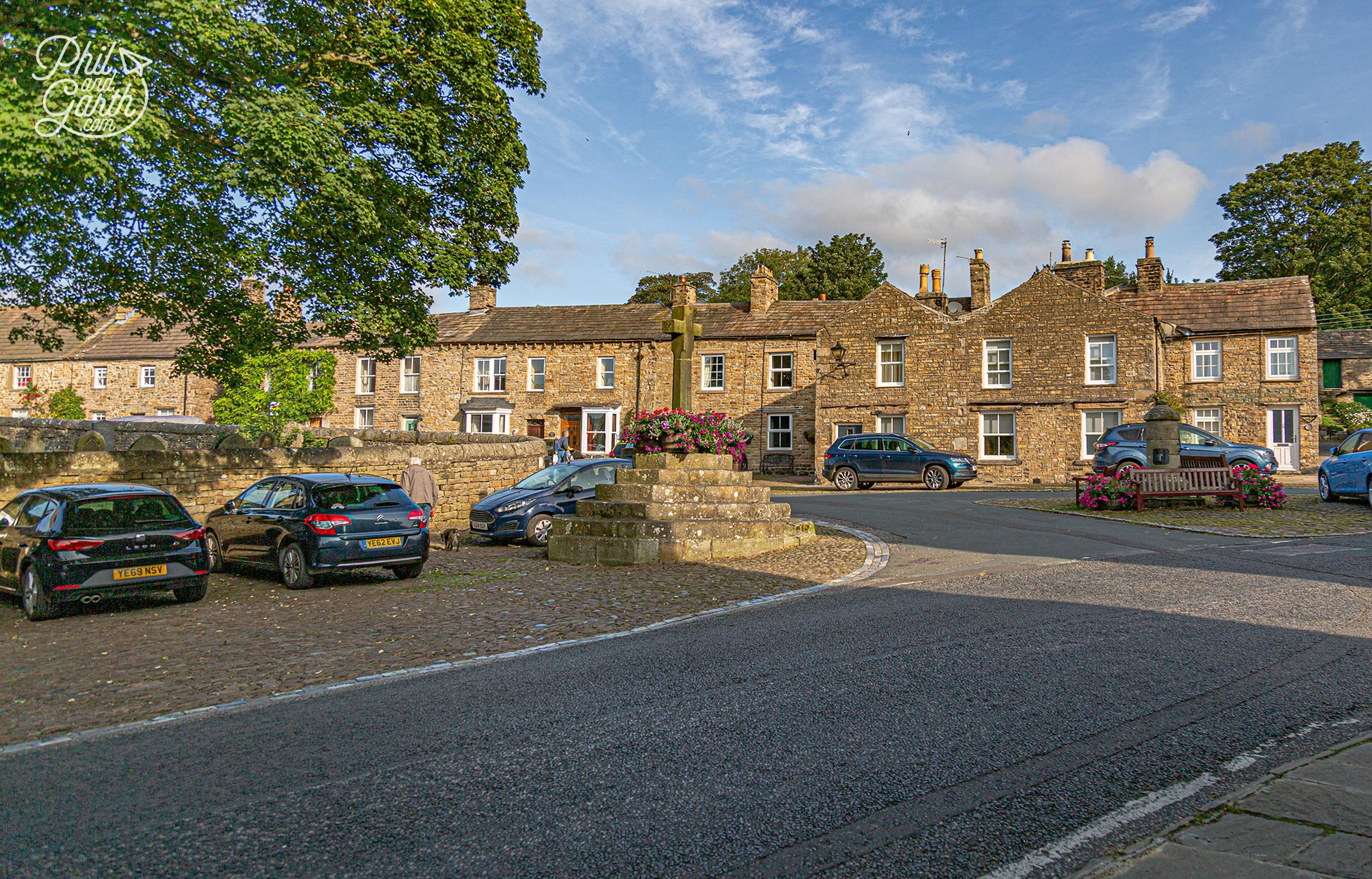 Askrigg, part of our guide to best Yorkshire Dales villages. It was made famous by the BBC TV series All Creatures Great and Small in the 1980s