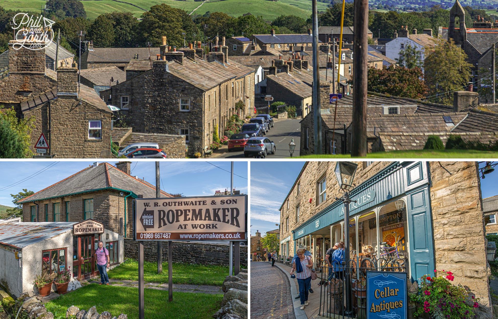 Hawes in Wensleydale has some nice shops to look around