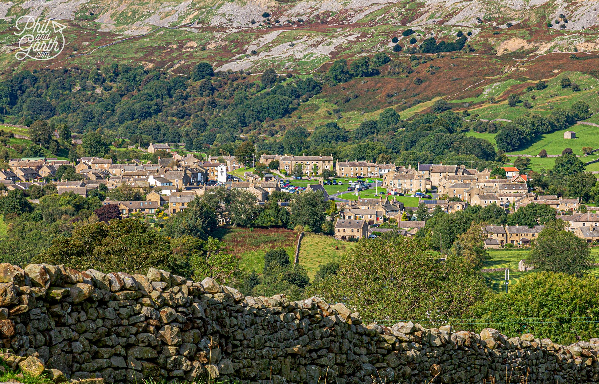 Reeth is the main village of Swaledale, another of the best Yorkshire Dales villages